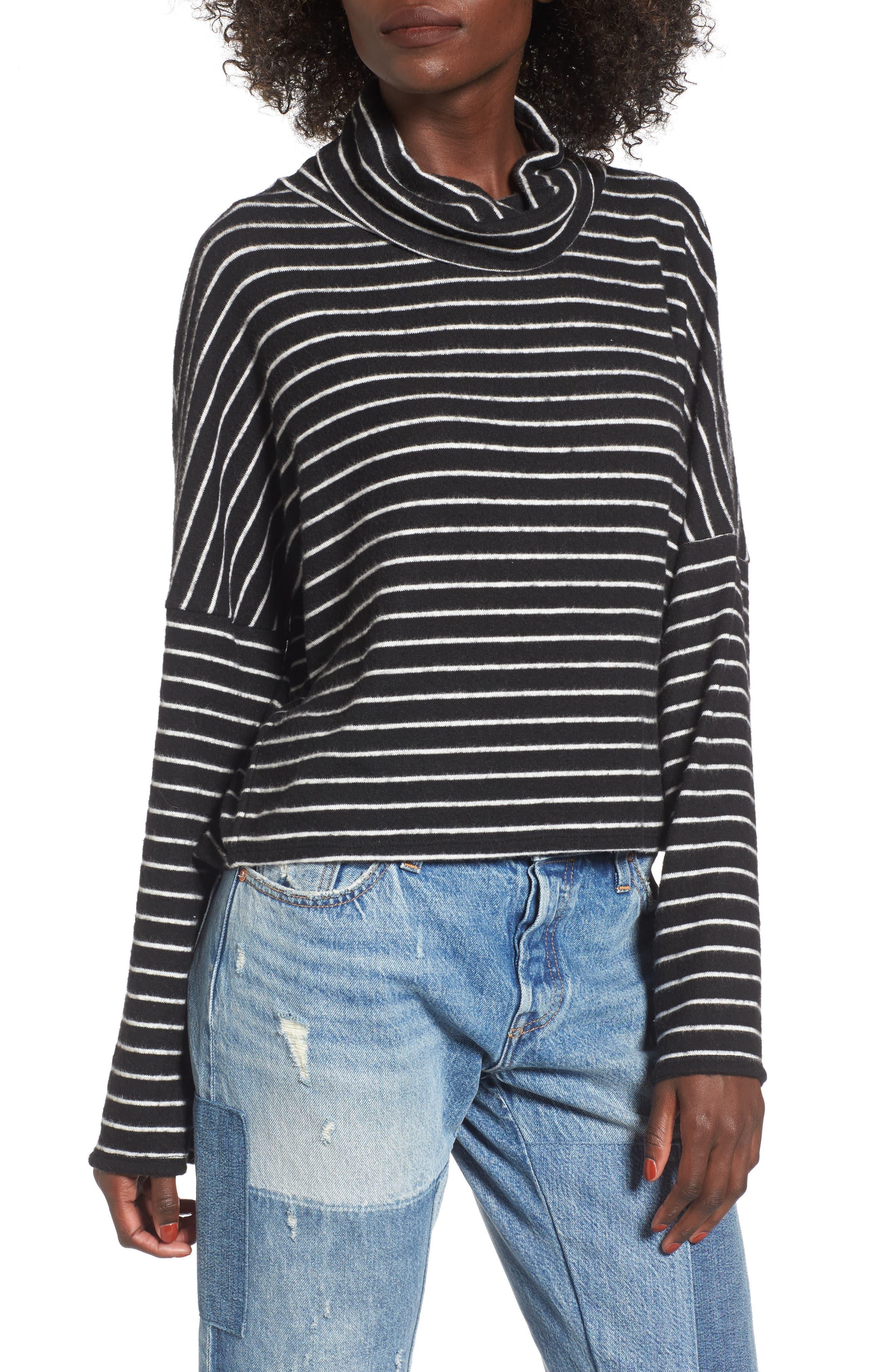 Main Image - BP. Bell Sleeve Stripe Top
