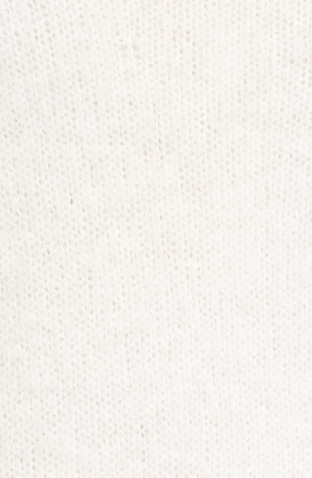 Alternate Image 5  - Caslon® Long Sleeve Brushed Sweater (Regular & Petite)