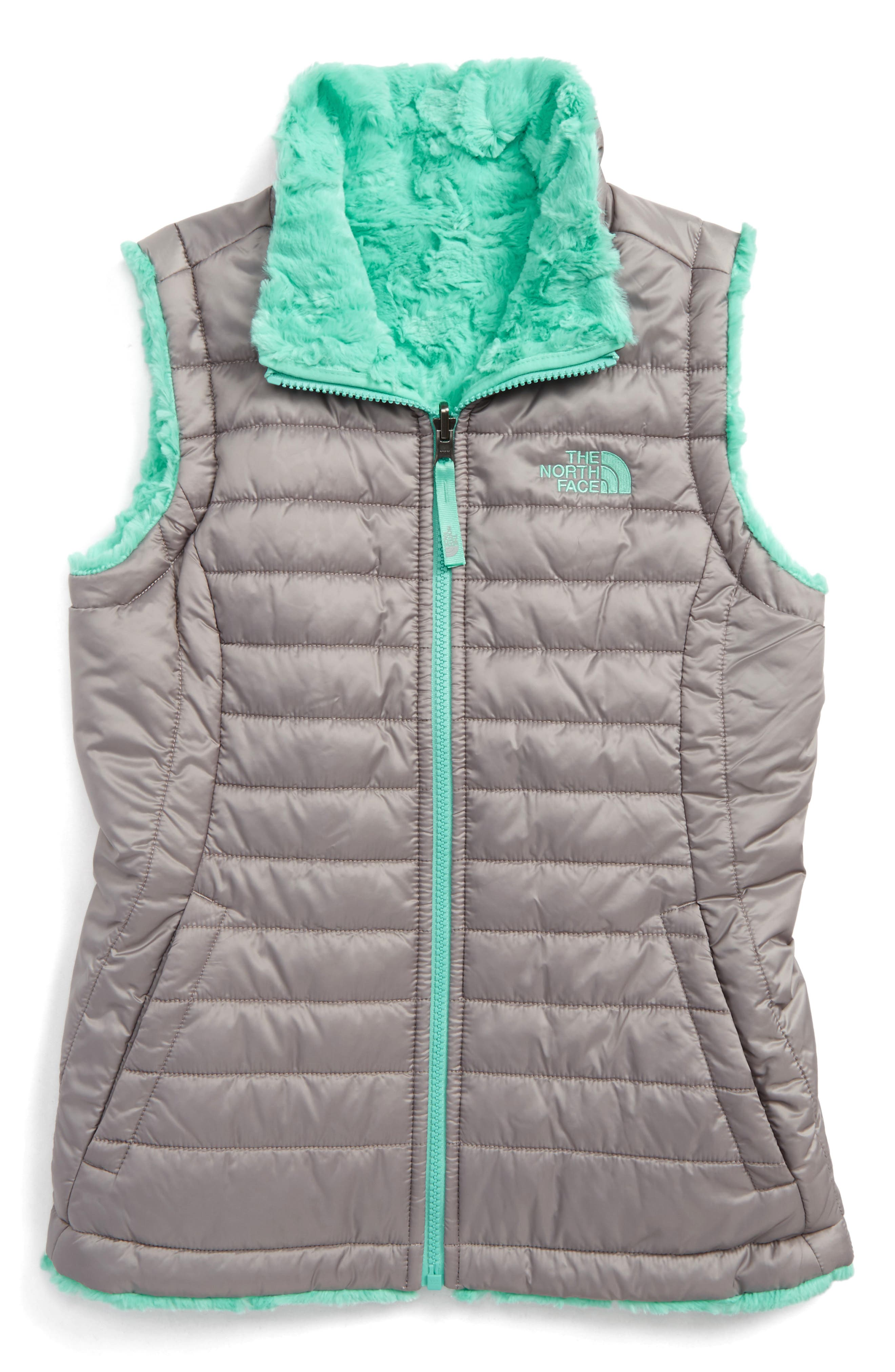 The North Face Mossbud Reversible Water Repellent Vest (Little Girls & Big Girls)