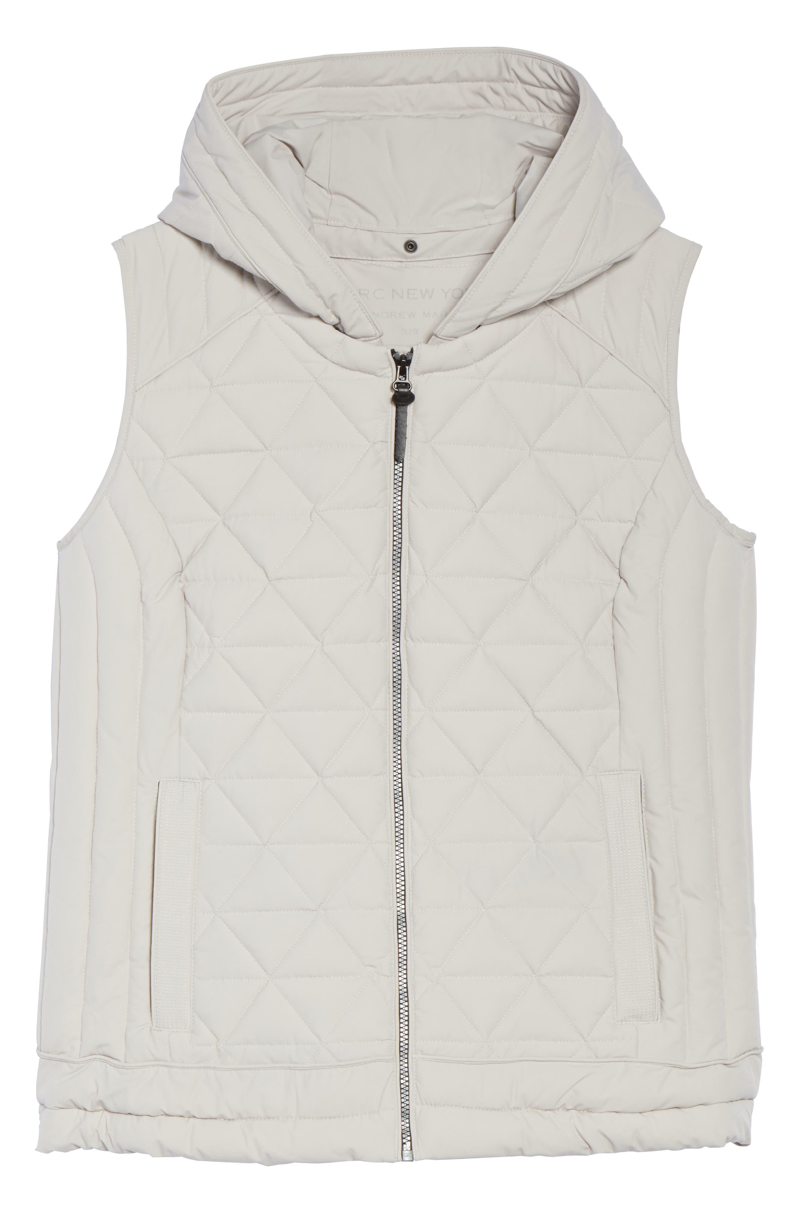 Alternate Image 6  - Andrew Marc Sage Quilted Vest (Plus Size)