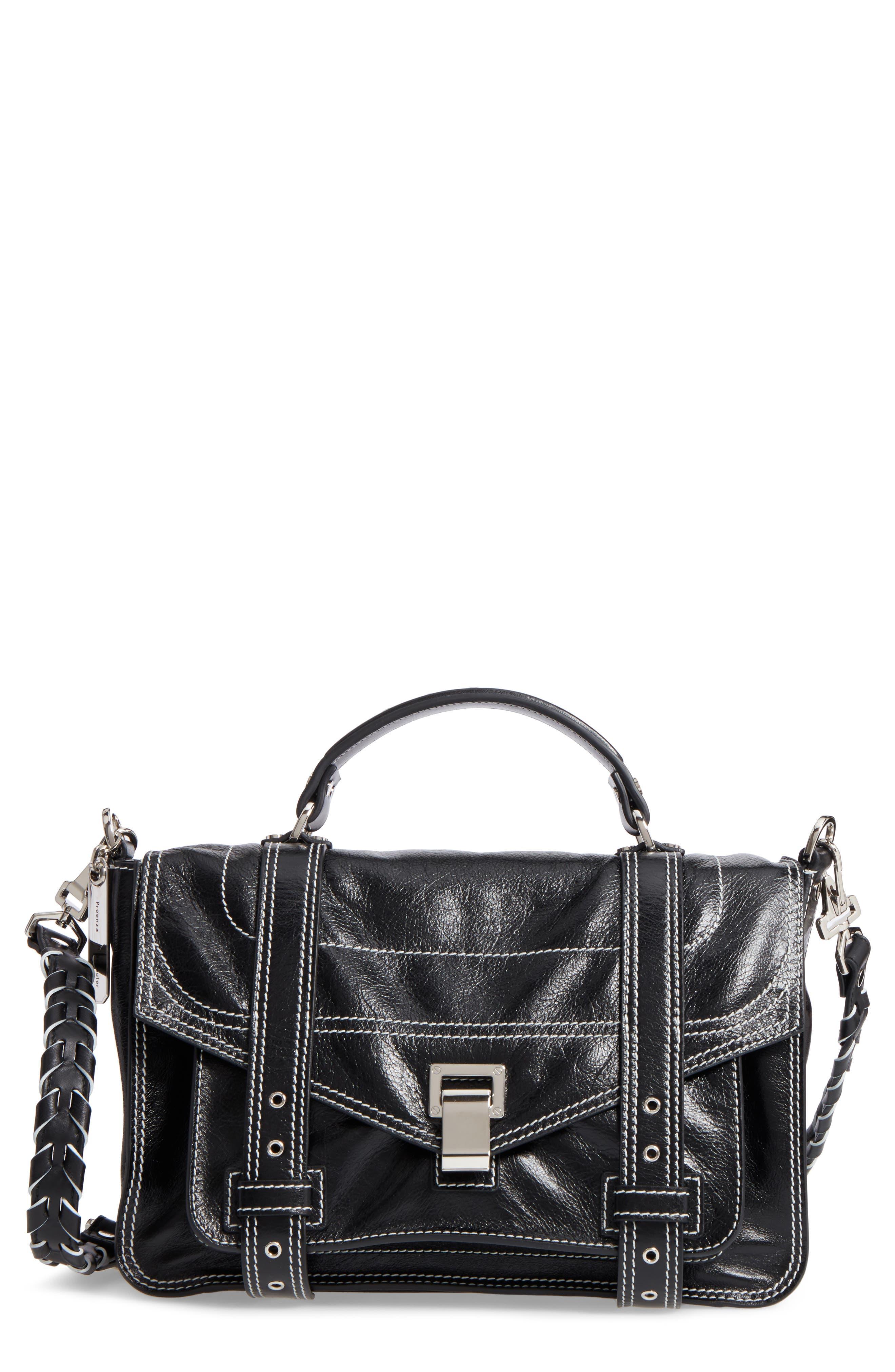 Alternate Image 1 Selected - Proenza Schouler Medium PS1 Calfskin Leather Satchel