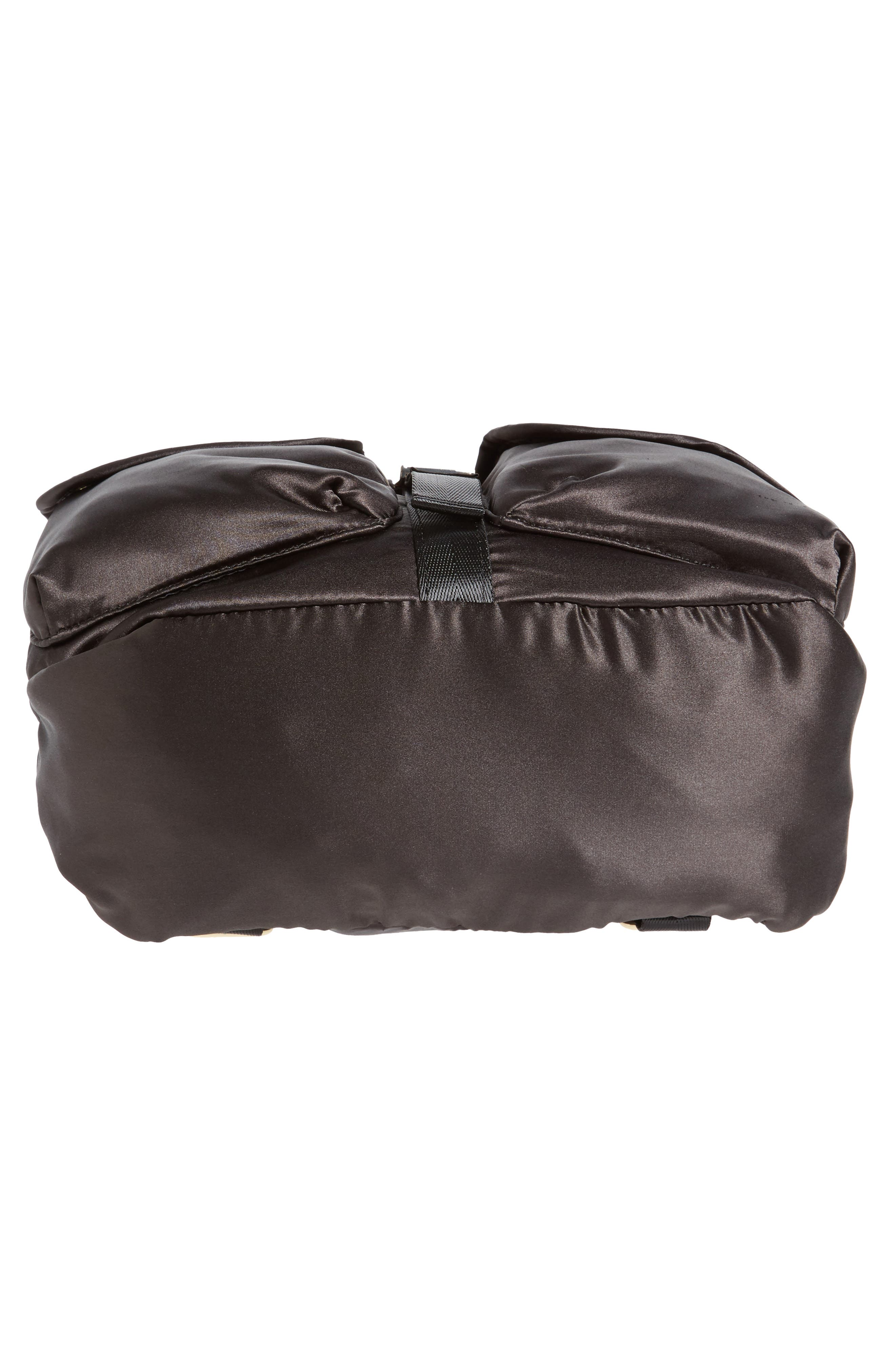 Alternate Image 5  - Steve Madden Small Satin Backpack