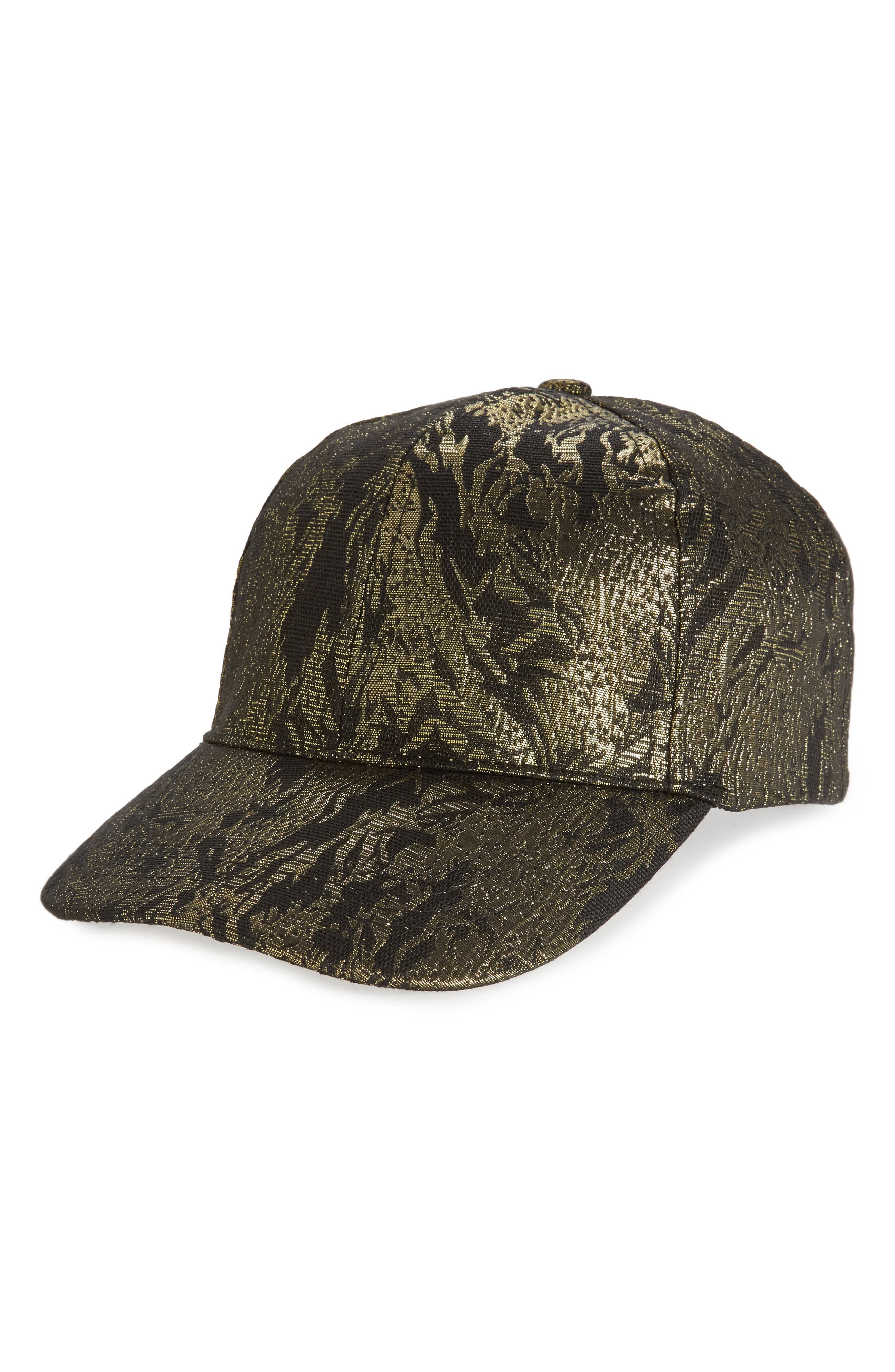 BP. Floral Brocade Baseball Cap