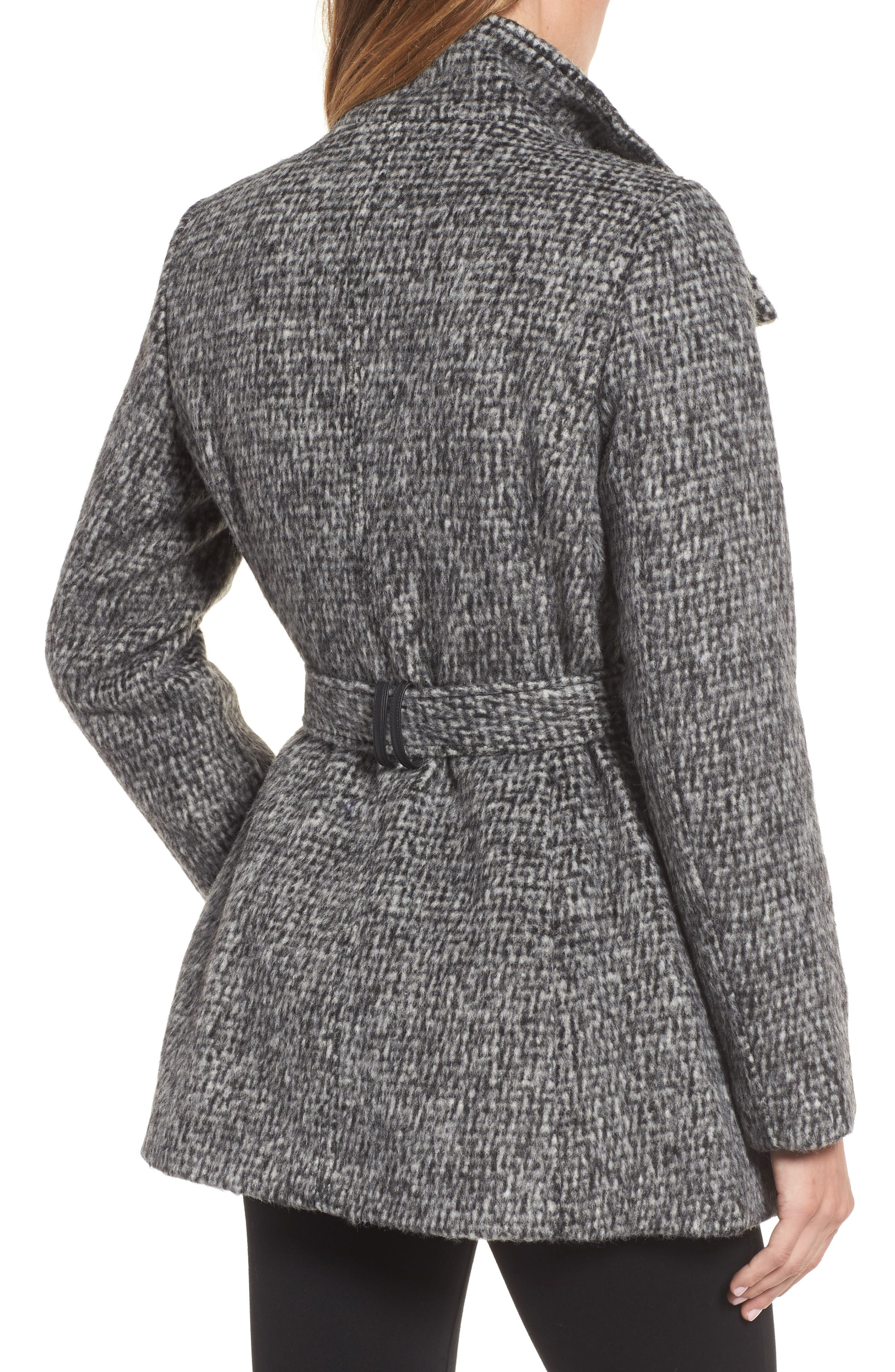 Alternate Image 2  - Cole Haan Signature Belted Wrap Coat
