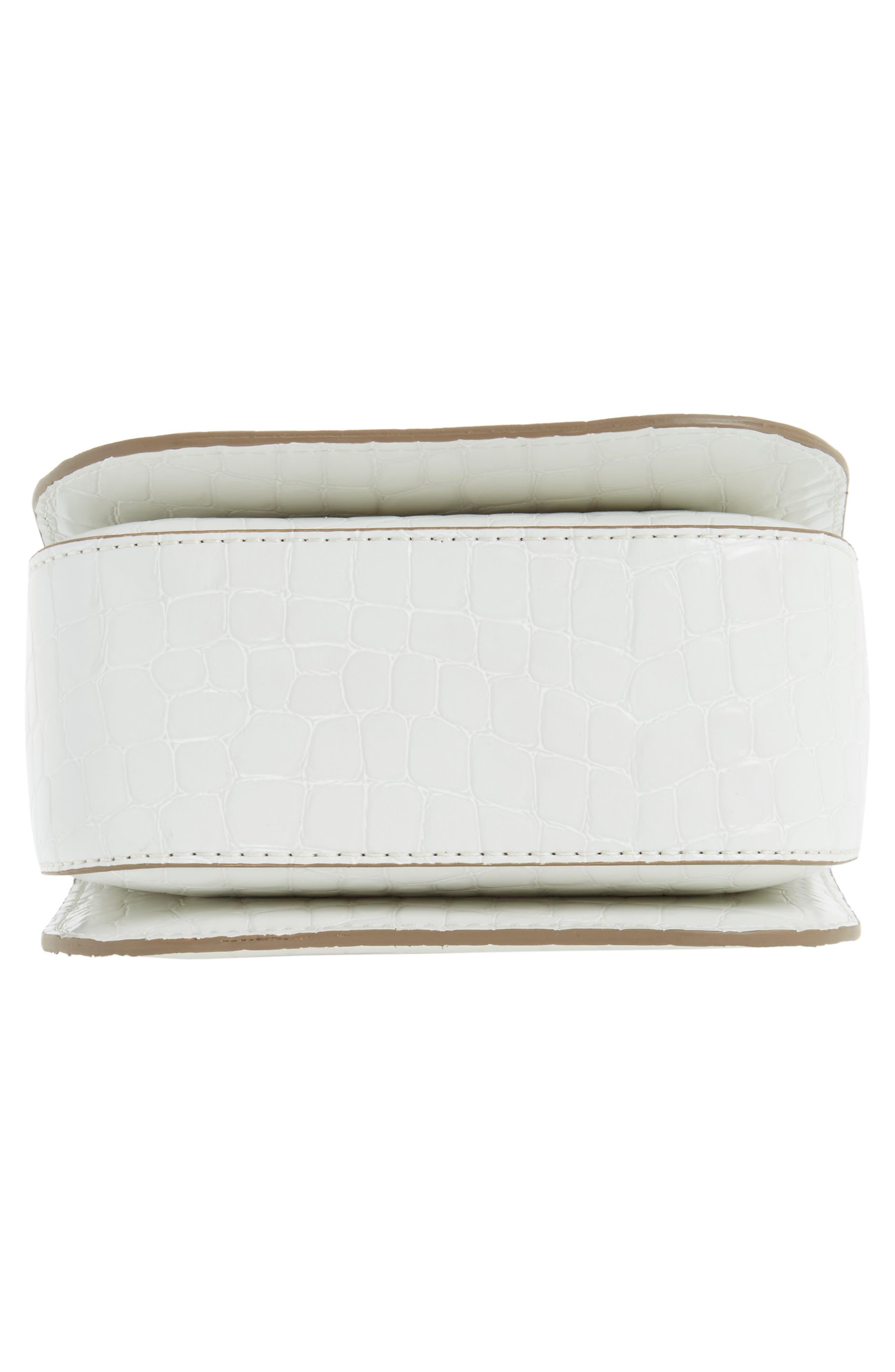 Alternate Image 4  - Stella McCartney Mini Falabella Faux Leather Box Satchel