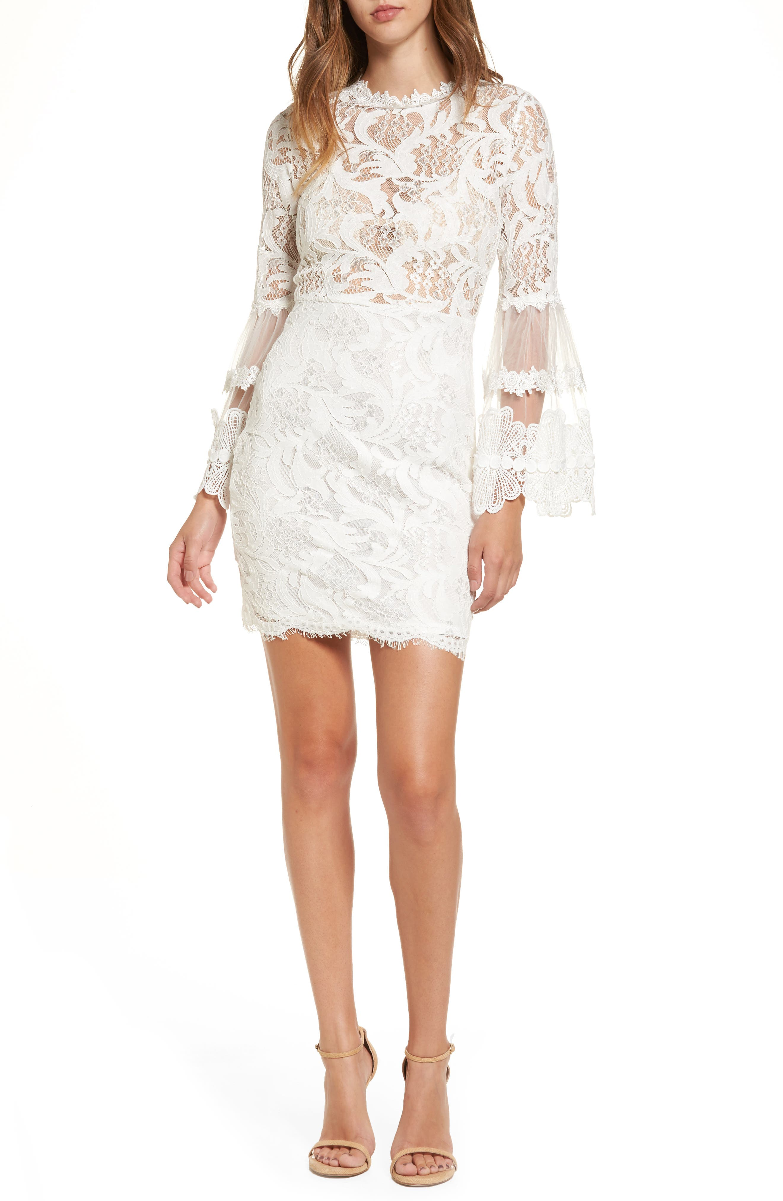 Alternate Image 1 Selected - Lioness Chancellor Lace Minidress