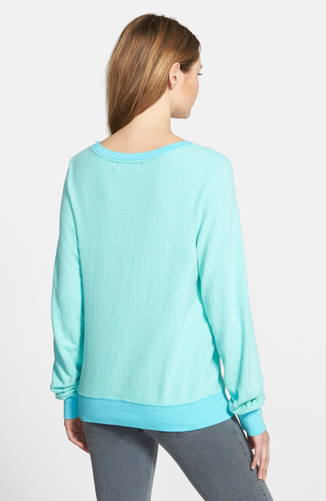 Alternate Image 2  - Wildfox 'Baggy Beach Jumper' Pullover