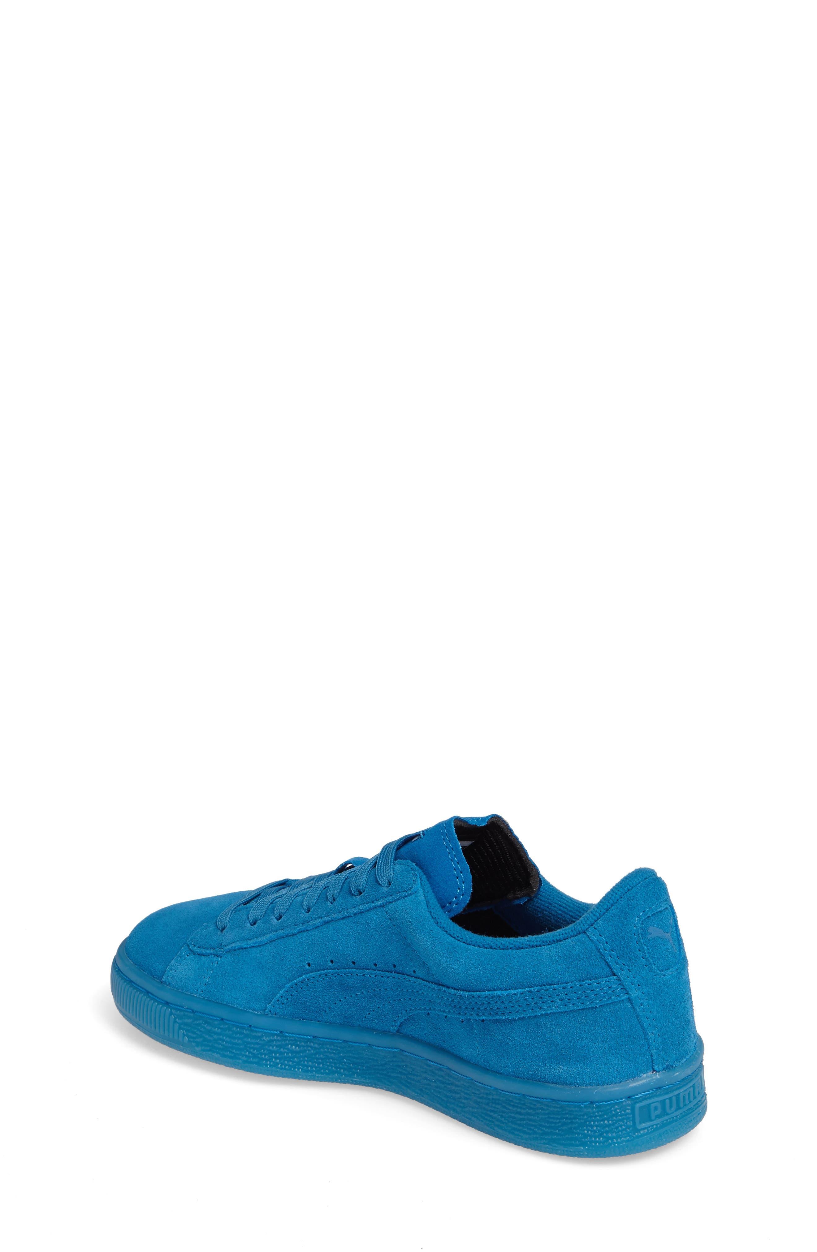 Alternate Image 2  - PUMA 'Suede Iced' Sneaker (Baby, Walker, Toddler, Little Kid & Big Kid)
