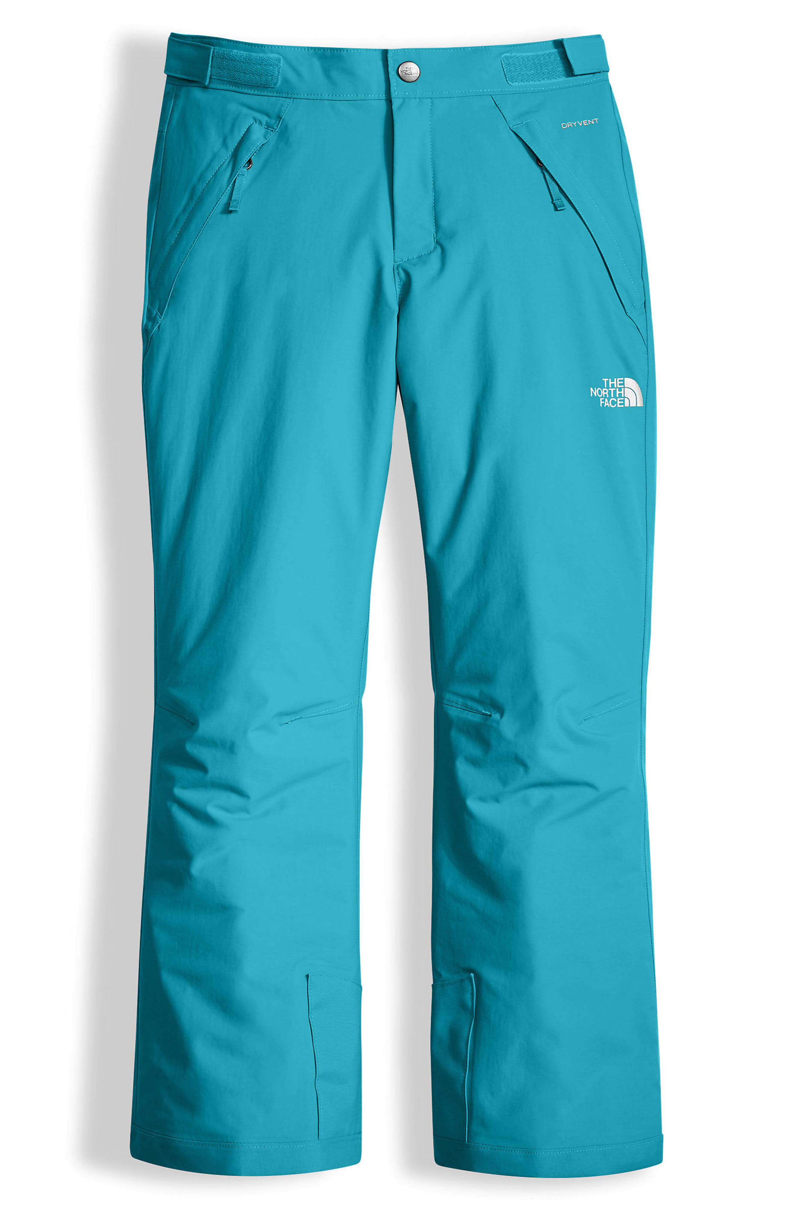 Freedom Waterproof Heatseeker<sup>™</sup> Insulated Snow Pants,                             Main thumbnail 1, color,                             Algiers Blue
