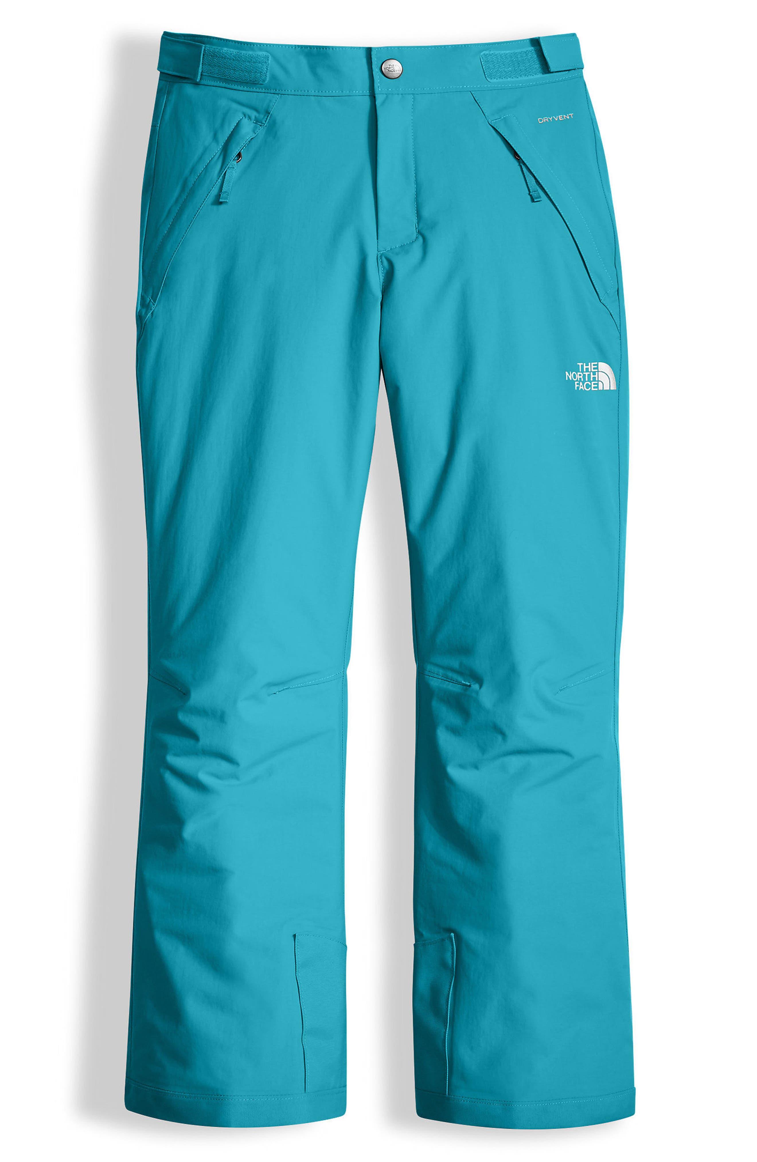Alternate Image 1 Selected - The North Face Freedom Waterproof Heatseeker™ Insulated Snow Pants (Big Girls)