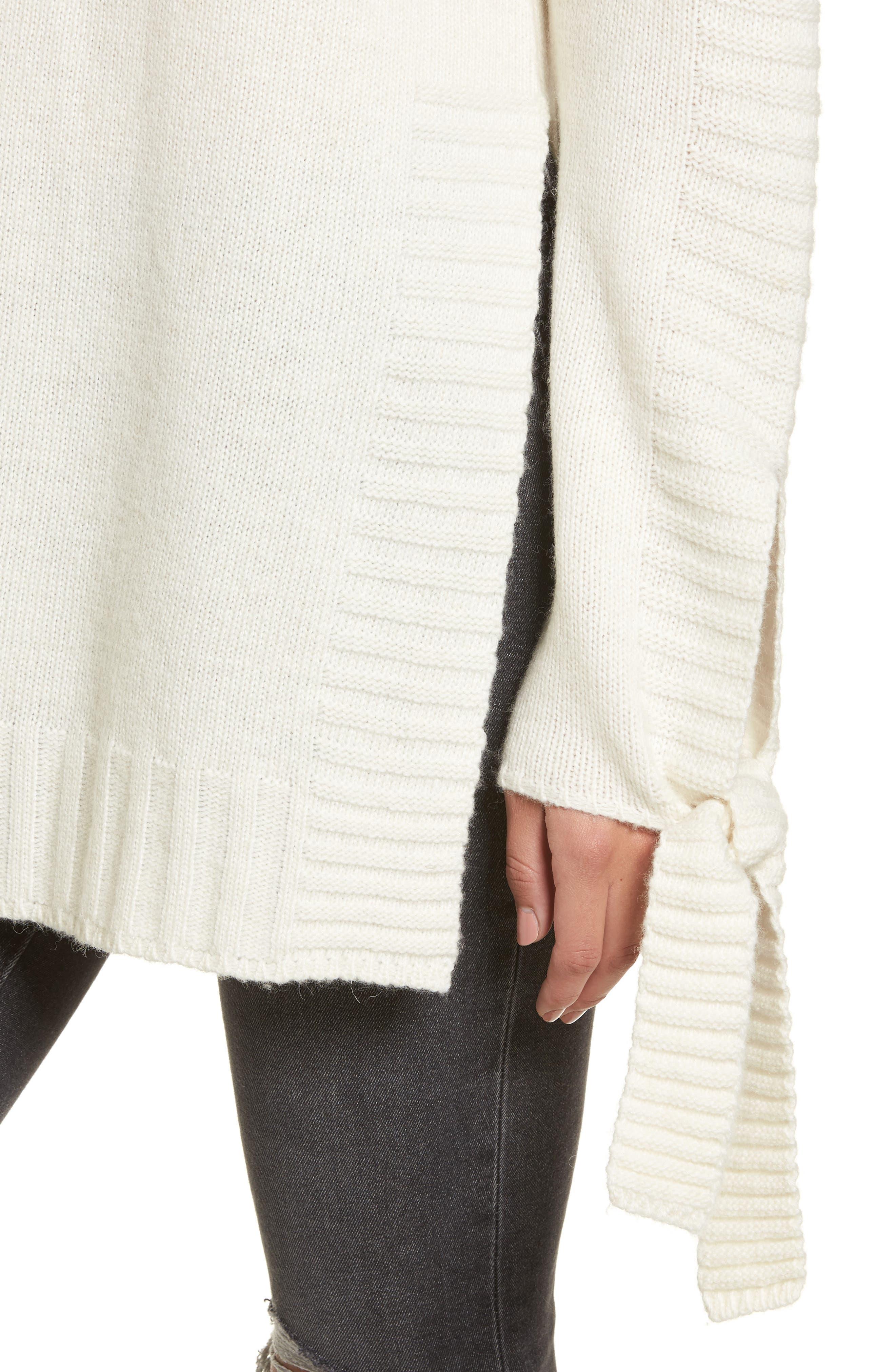 Alternate Image 5  - Moon River Side Slit Sweater