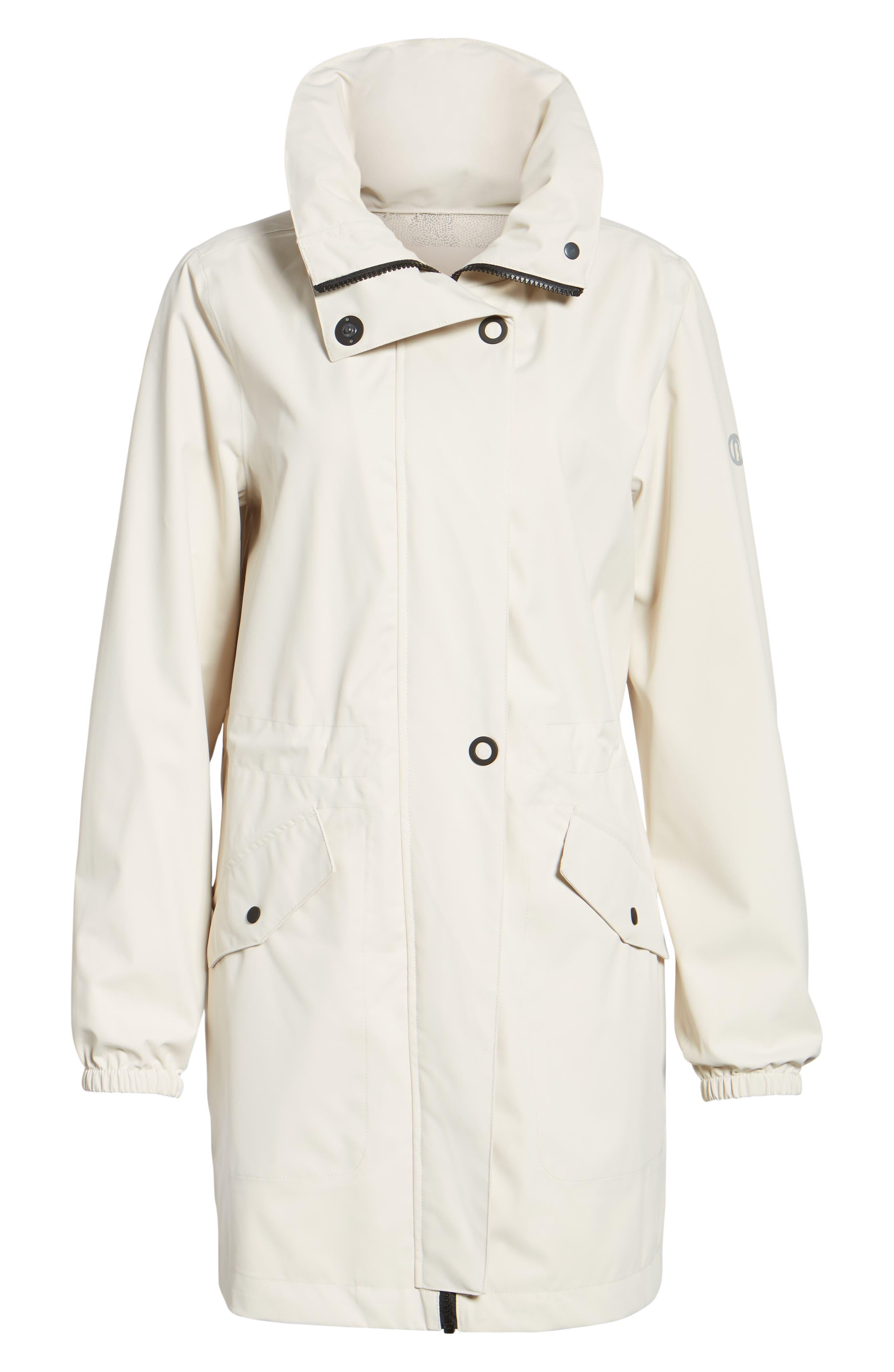 Micro Breathable Anorak Jacket,                             Alternate thumbnail 6, color,                             Beige