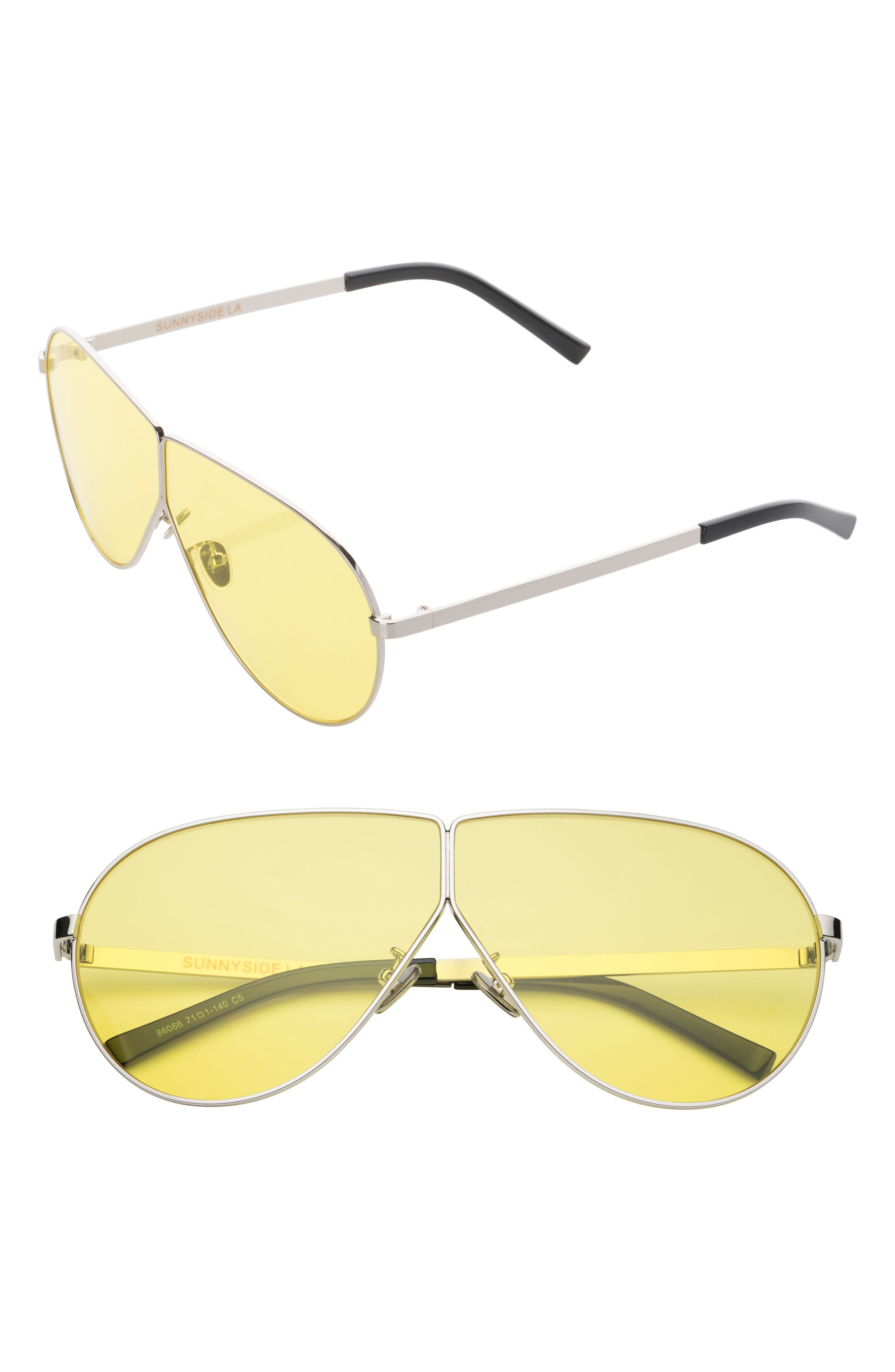 SunnySide LA 57mm Shield Sunglasses