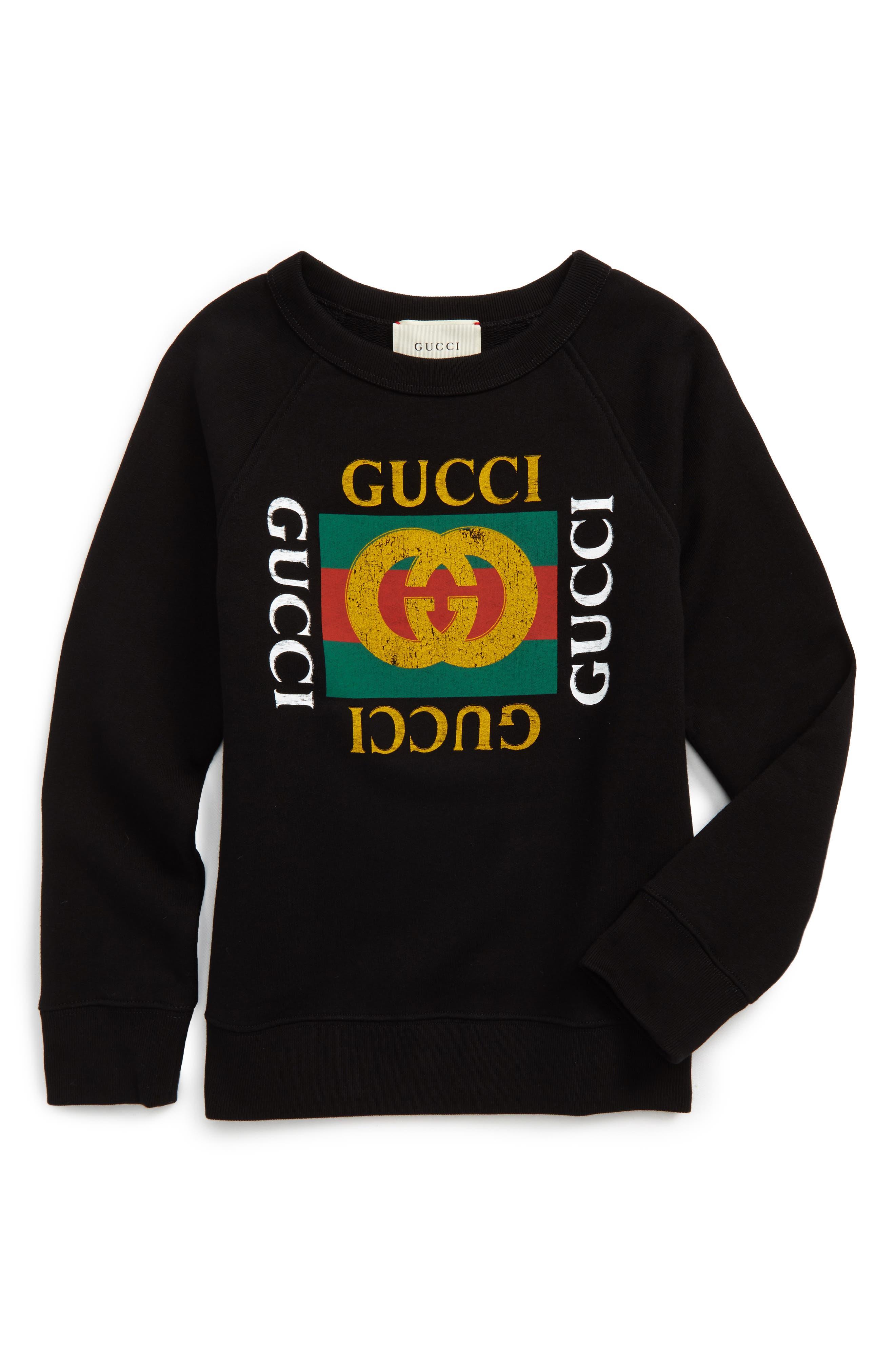 Gucci Logo Graphic Sweatshirt (Little Boys & Big Boys)