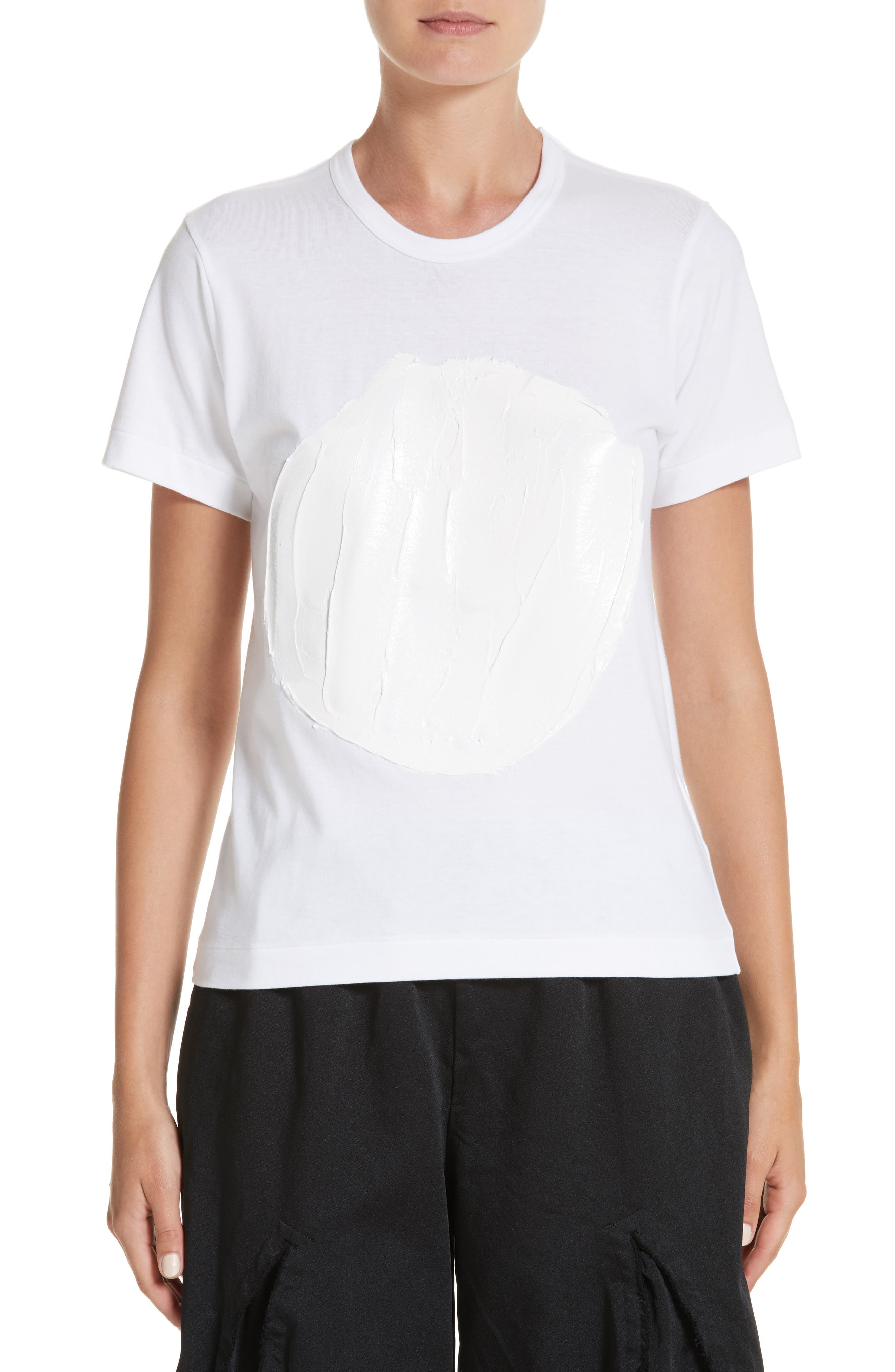 Paint Tee,                         Main,                         color, White