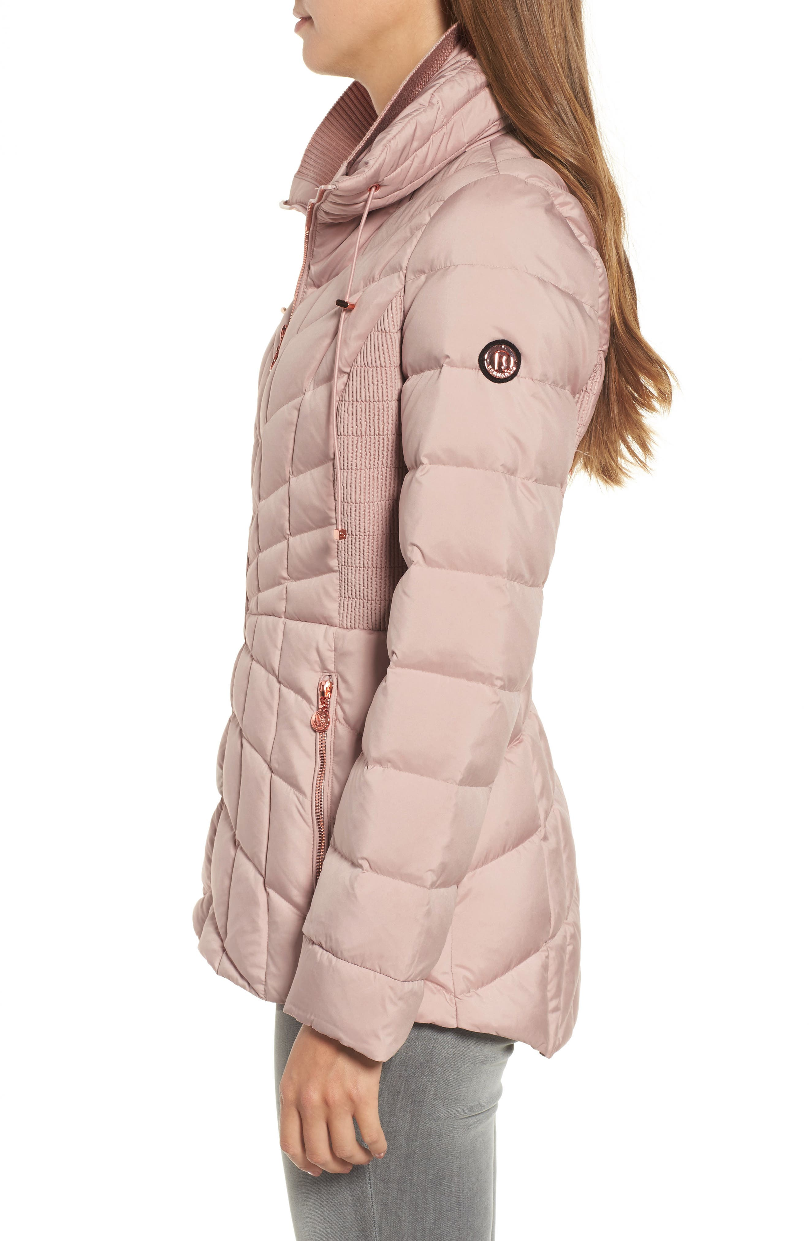 Alternate Image 3  - Bernardo Packable Down & PrimaLoft® Coat (Regular & Petite)