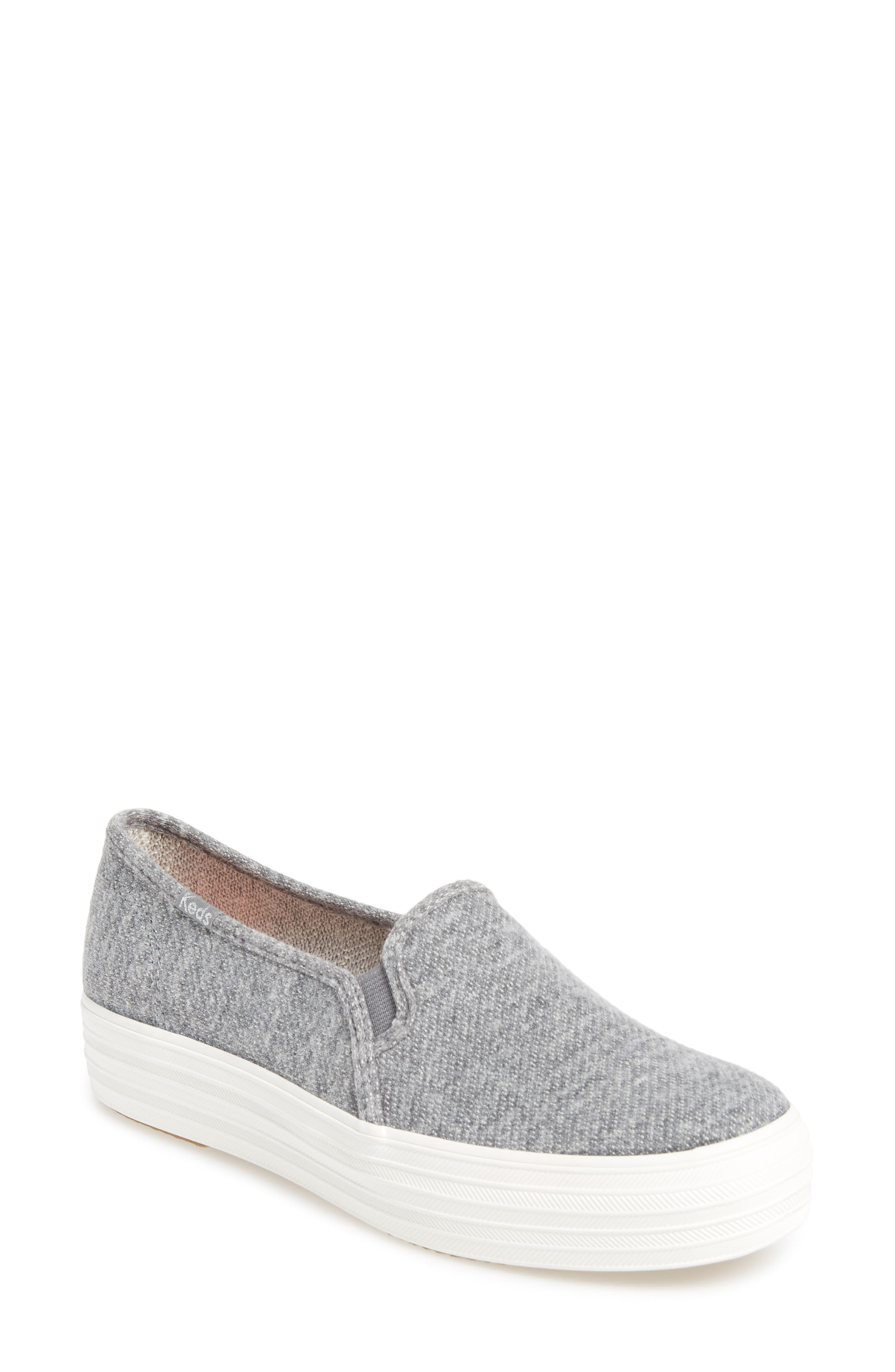 Keds® Triple Decker Slip-On Platform Sneaker (Women)