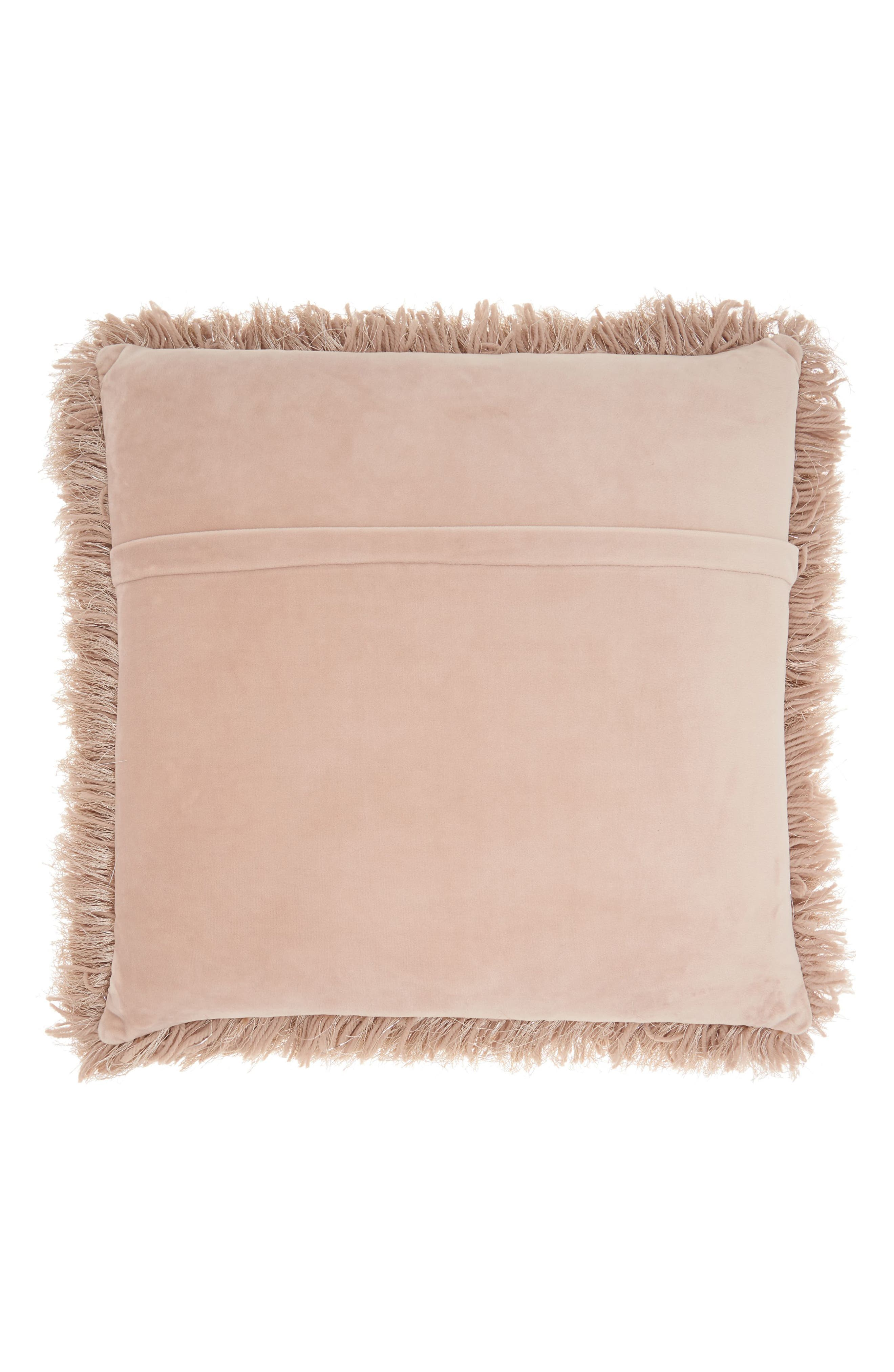 Alternate Image 2  - Mina Victory Shag Pillow