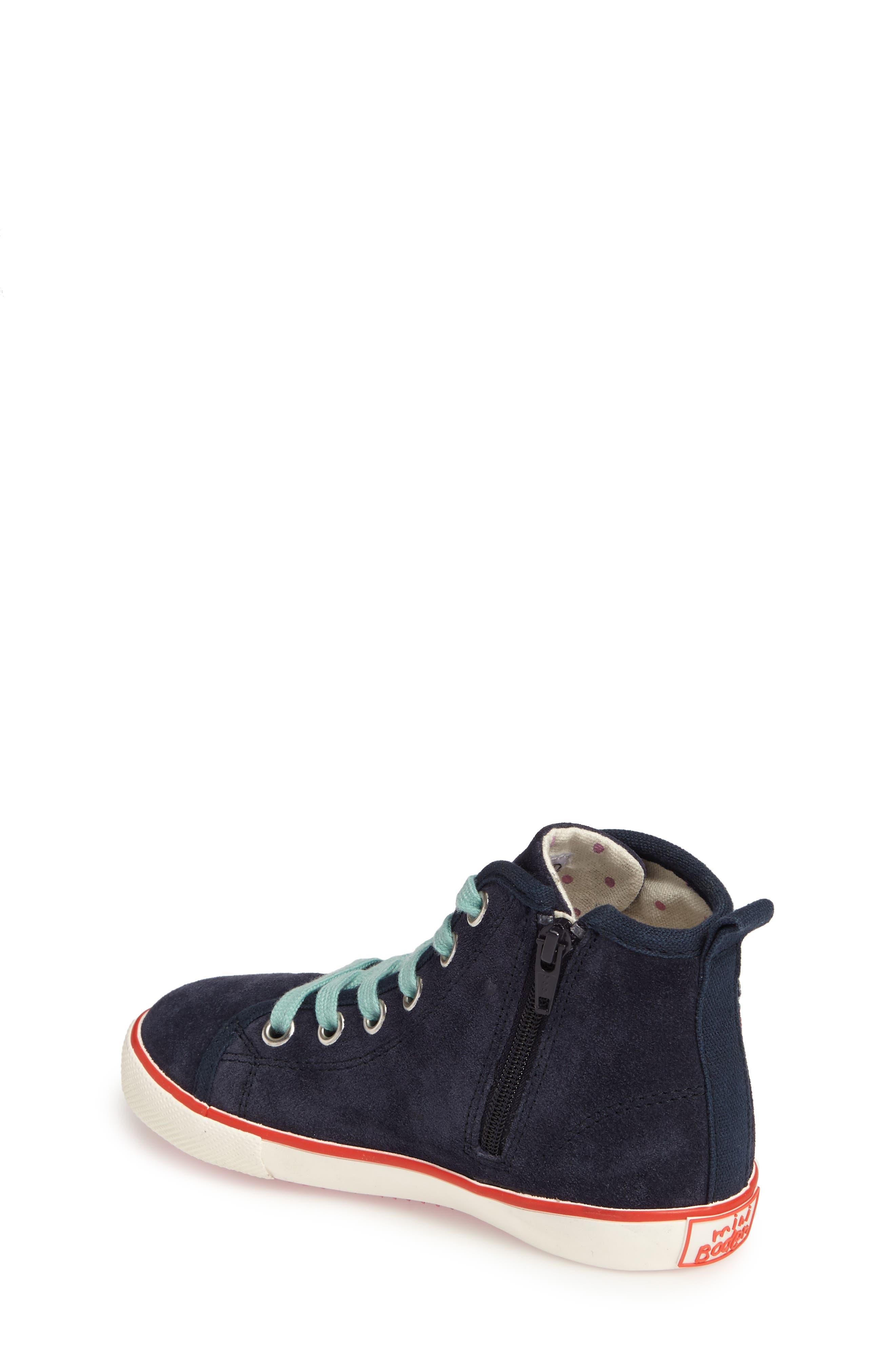 Alternate Image 2  - Mini Boden Embellished High Top Sneaker (Toddler, Little Kid & Big Kid)