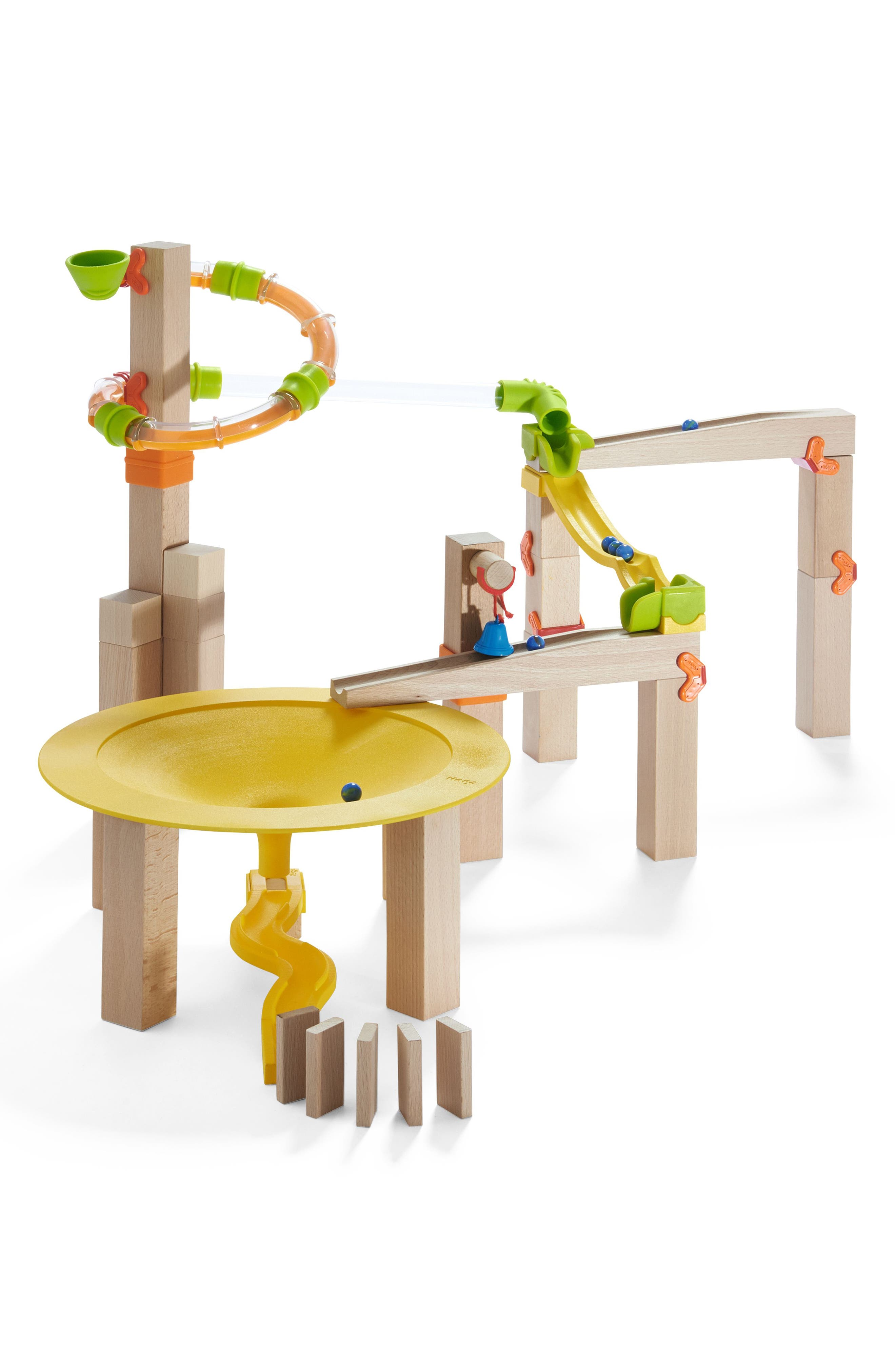 My First Ball Track 44-Piece Basic Pack Funnel Track Play Set,                             Alternate thumbnail 2, color,                             Brown