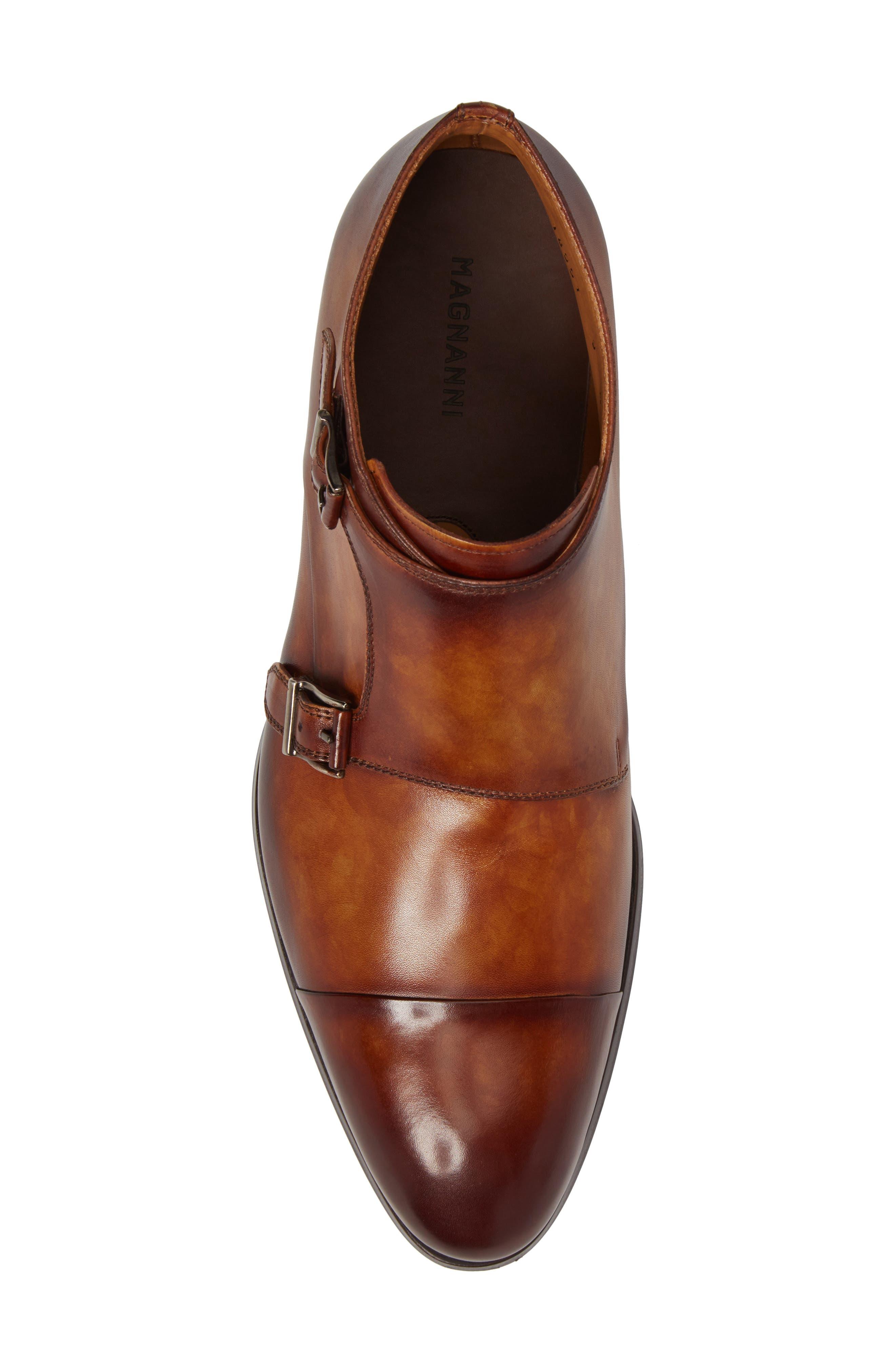 Alternate Image 5  - Magnanni Lavar Double Monk Strap Boot (Men)