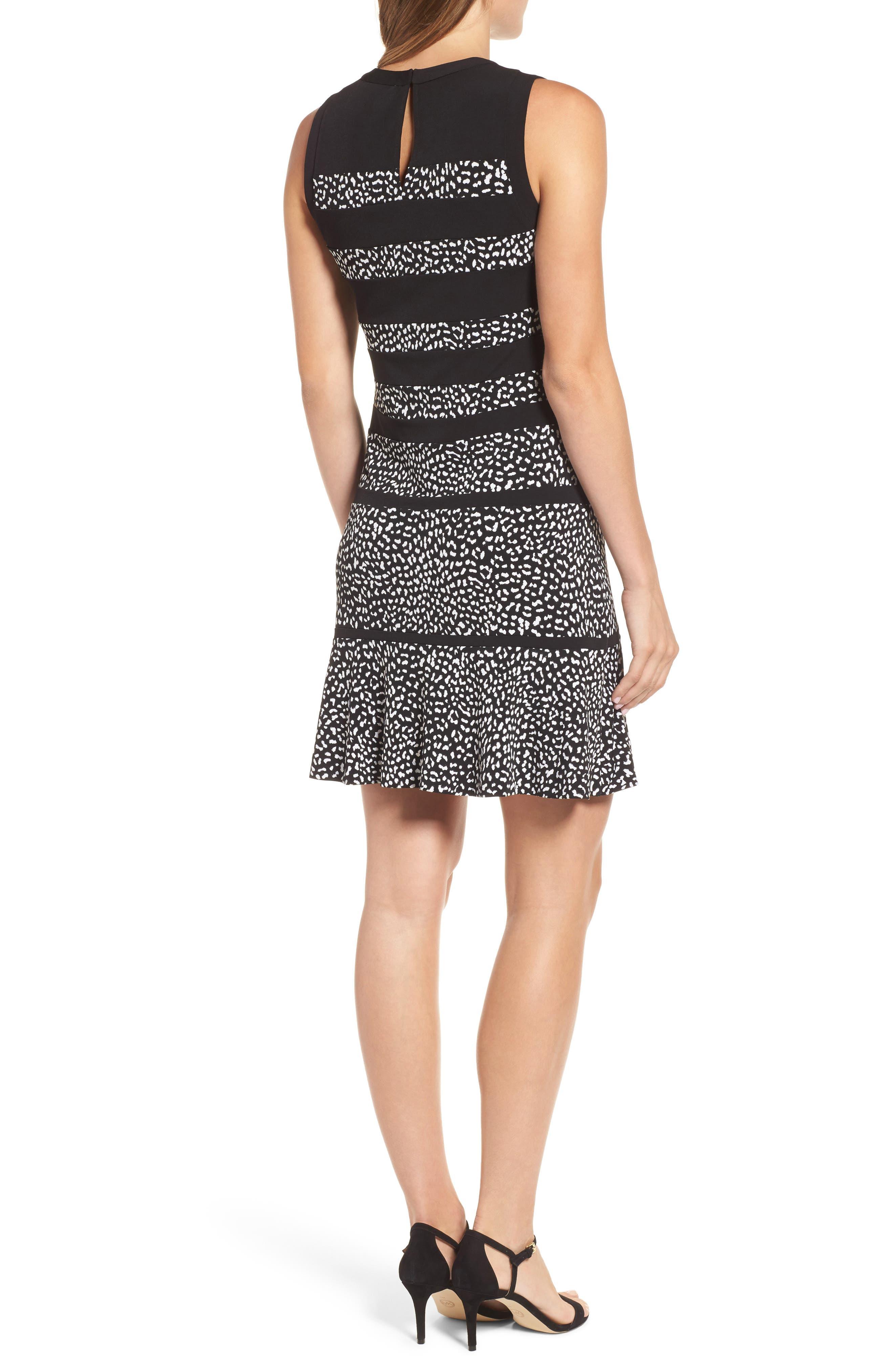 Alternate Image 2  - MICHAEL Michael Kors Cheetah Panel Dress