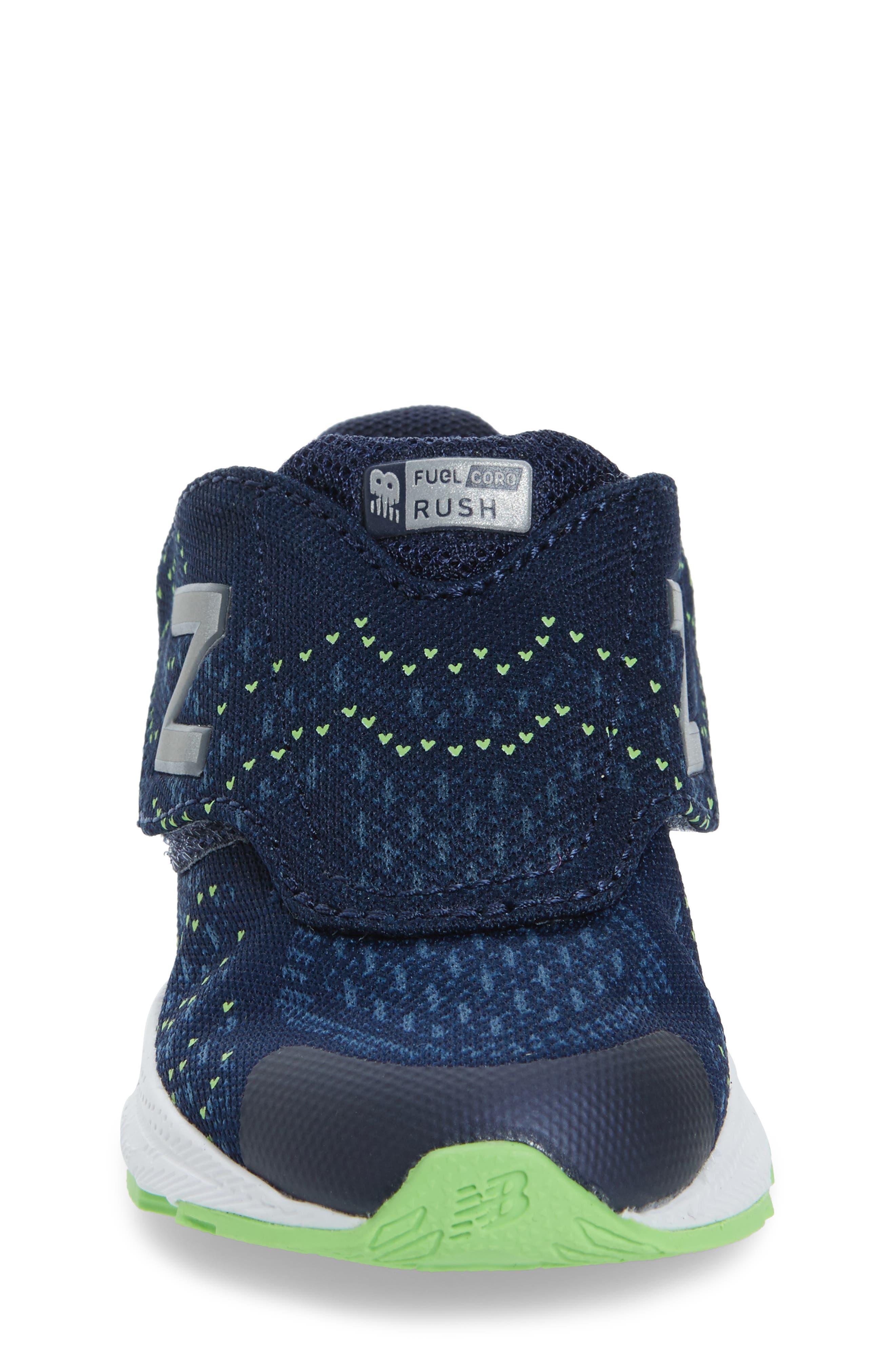 Alternate Image 4  - New Balance FuelCore Rush v3 Sneaker (Baby, Walker, Toddler & Little Kid)