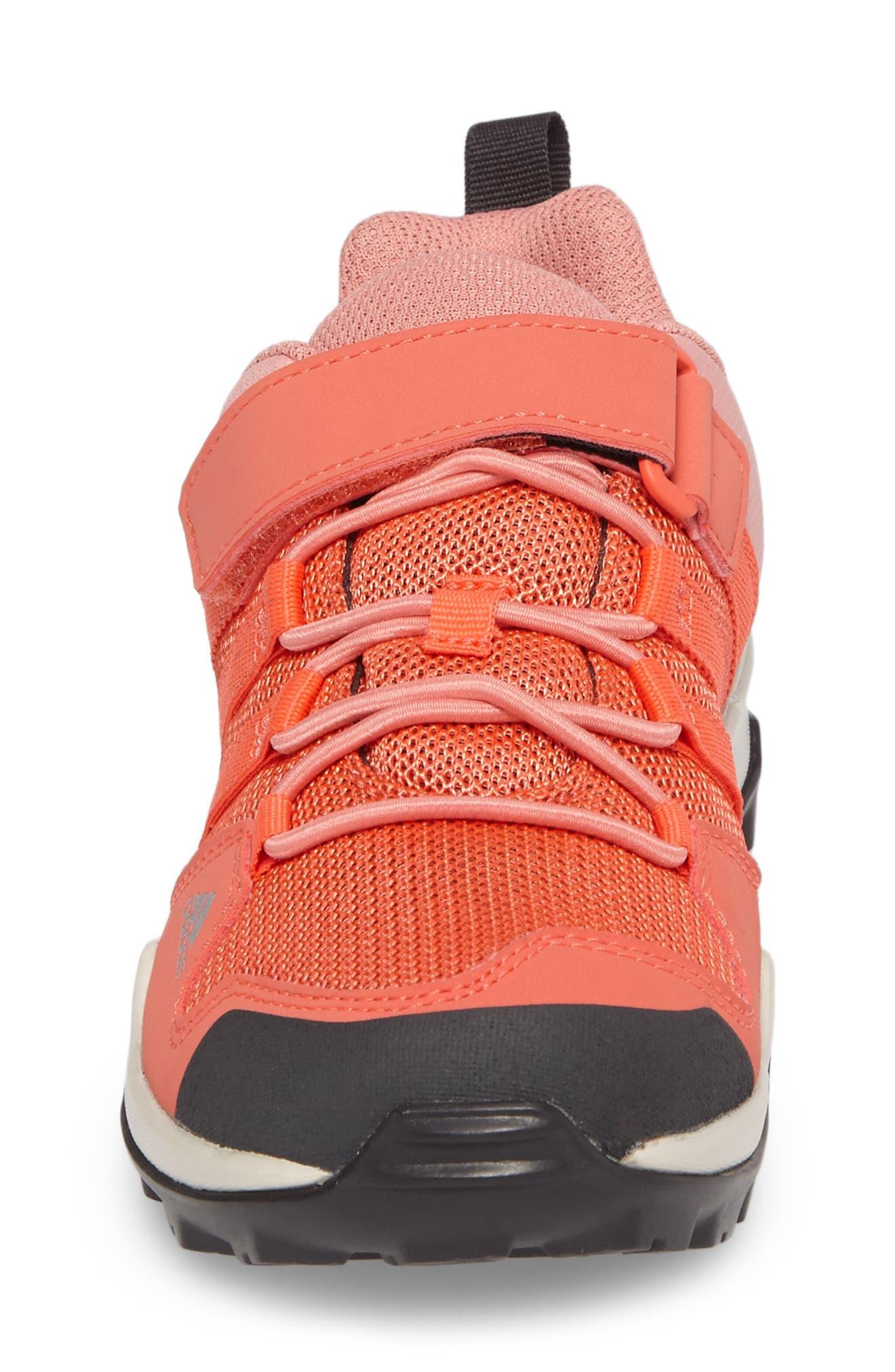 Terrex AX2R Sneaker,                             Alternate thumbnail 4, color,                             Easy Coral/ Tactile Rose