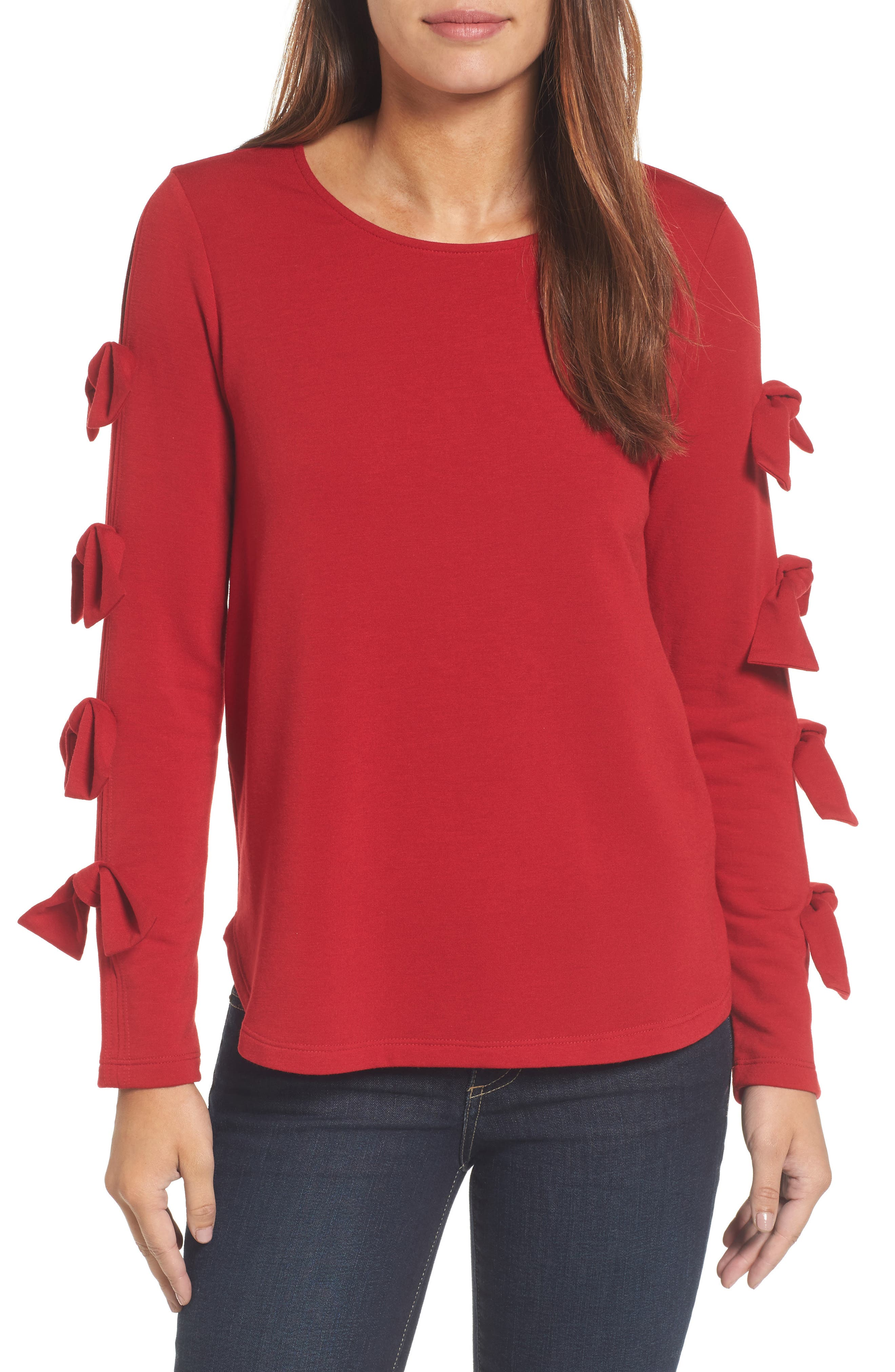 Pleione Tie Sleeve Sweatshirt
