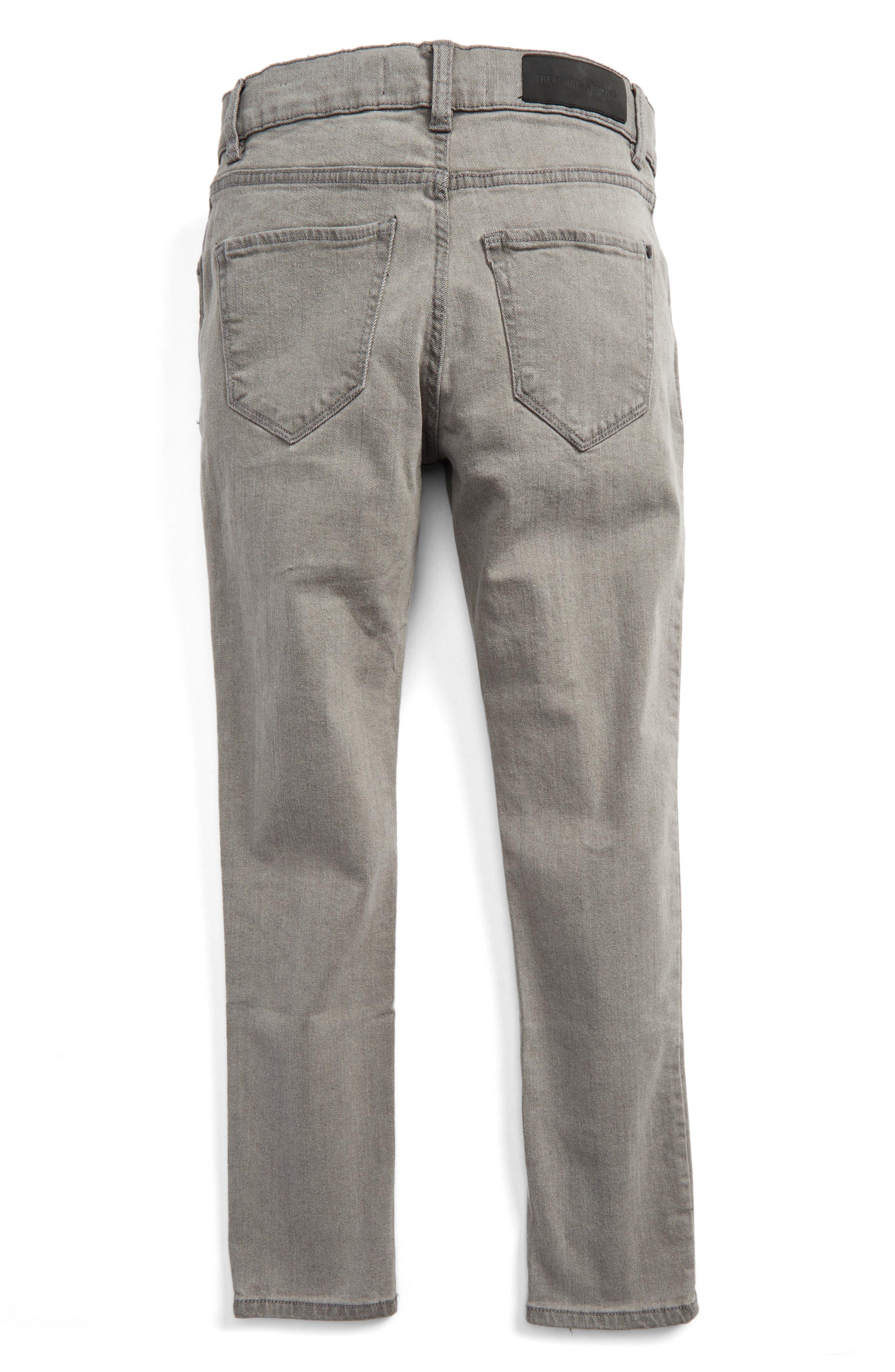 Alternate Image 2  - Treasure & Bond Slouch Skinny Jeans (Big Boys)