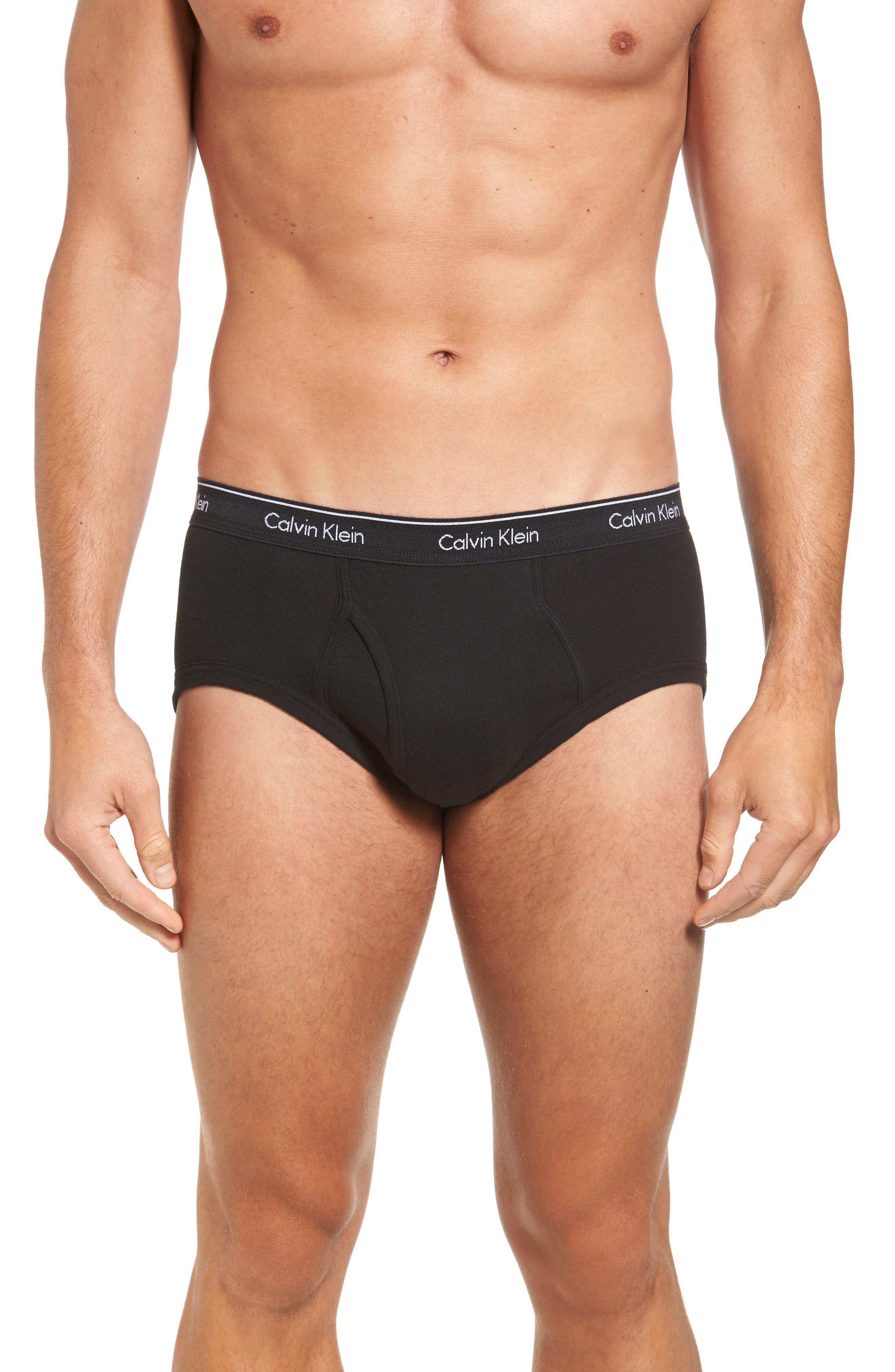 Alternate Image 2  - Calvin Klein 4-Pack Cotton Briefs