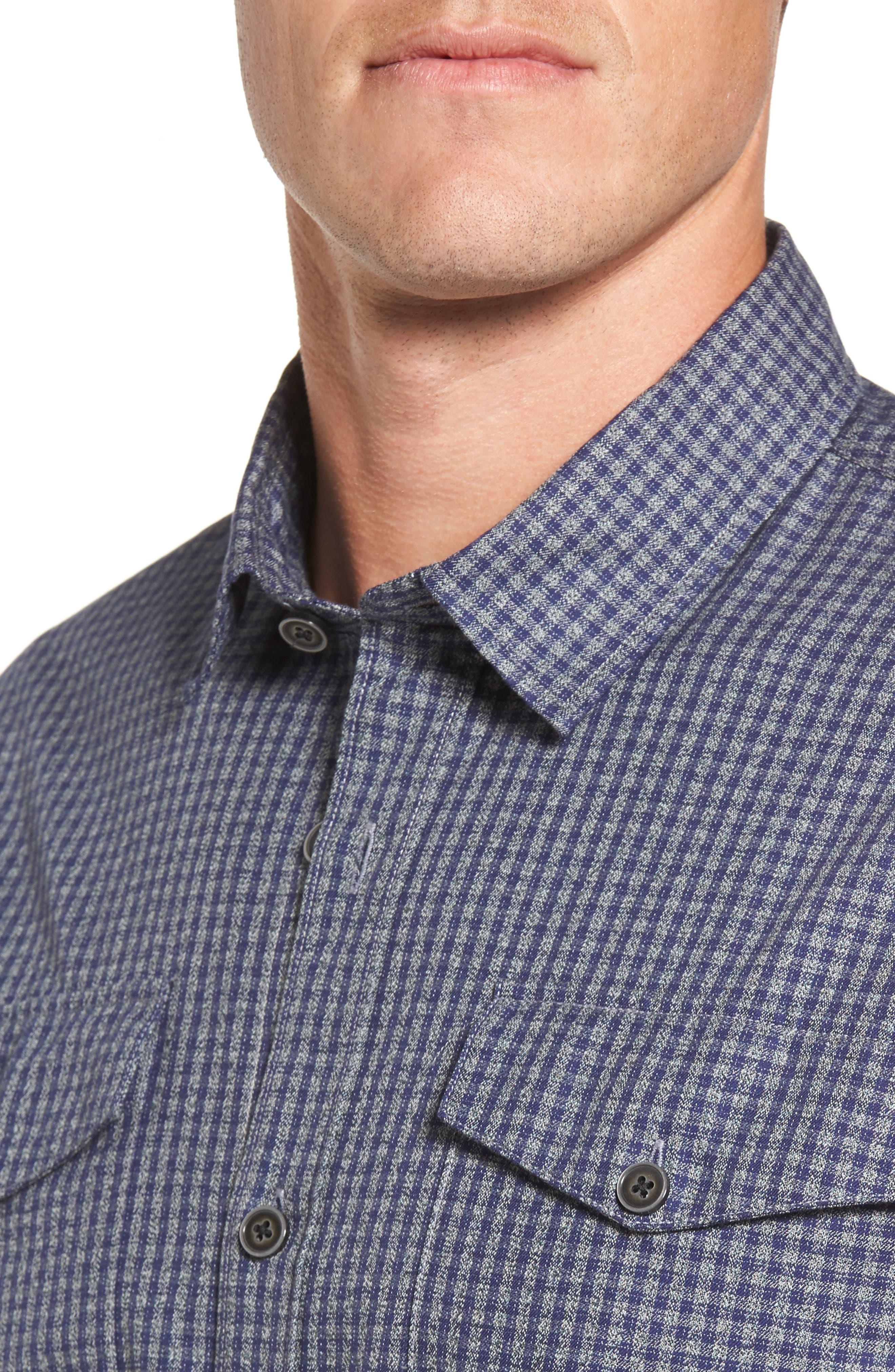 Alternate Image 4  - Coastaoro Main Street Check Flannel Shirt
