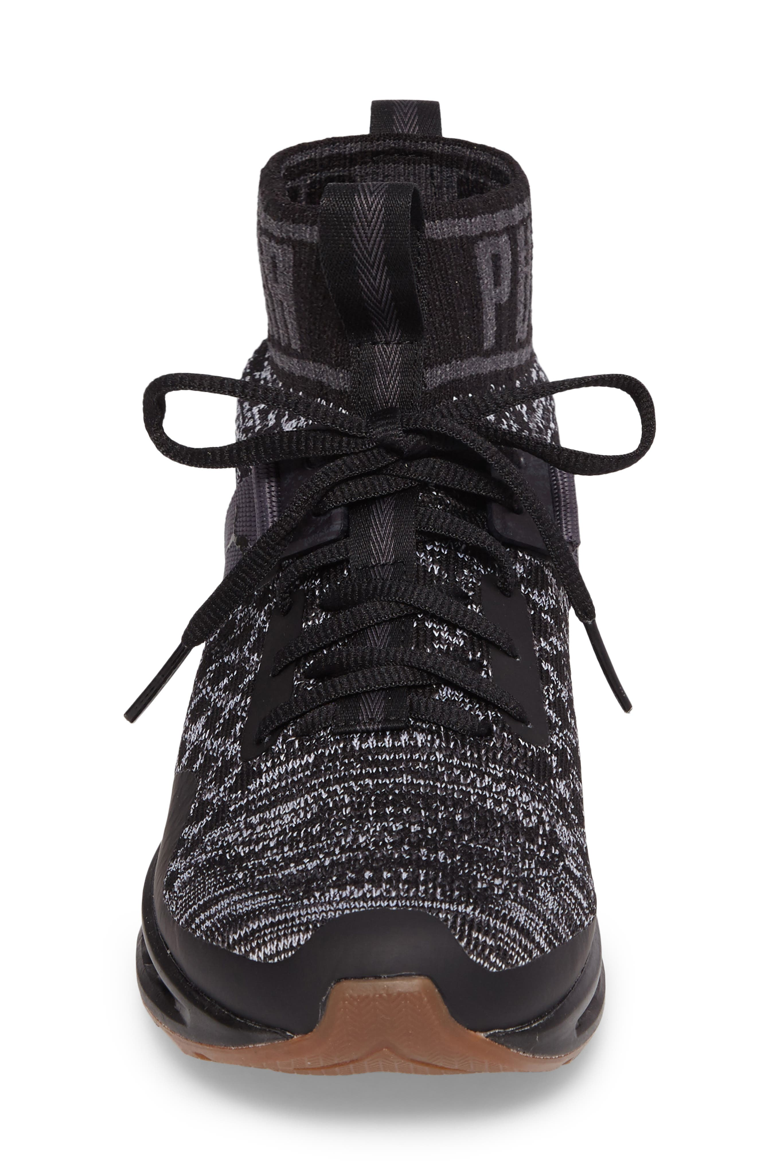 Alternate Image 4  - PUMA IGNITE evoKNIT Running Shoe (Women)