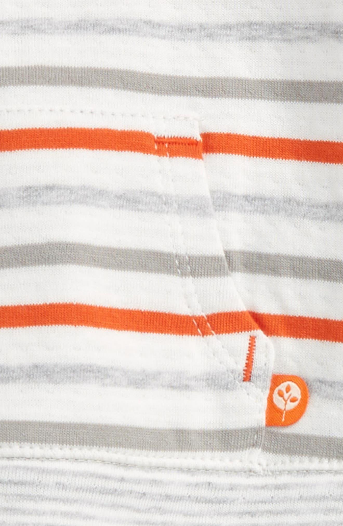 Alternate Image 2  - Offspring Safari Fun Sweatshirt & Pants Set (Baby Boys)