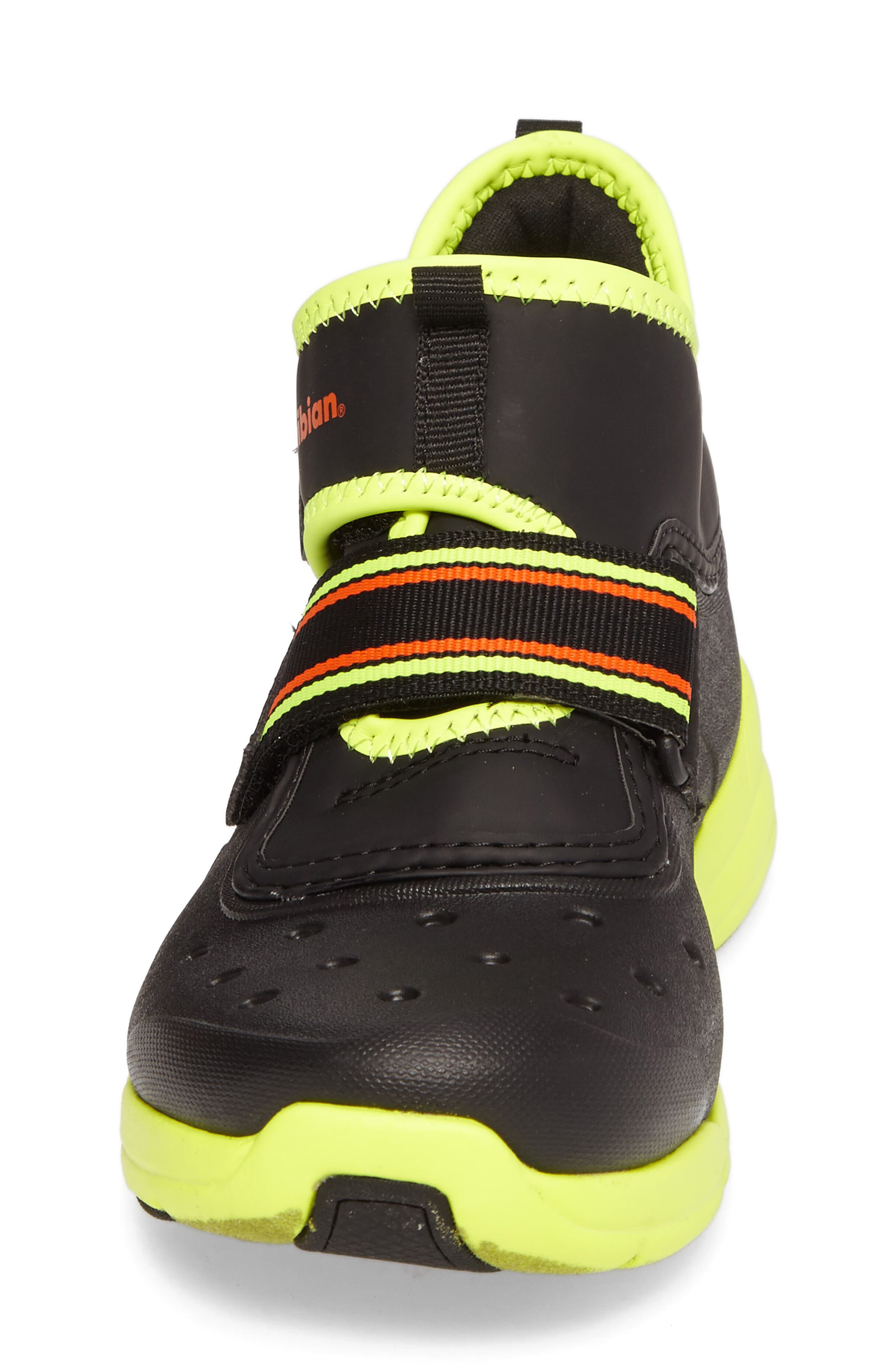 Alternate Image 4  - Stride Rite Made2Play® Phibian Mid Top Sneaker (Baby, Walker & Toddler)