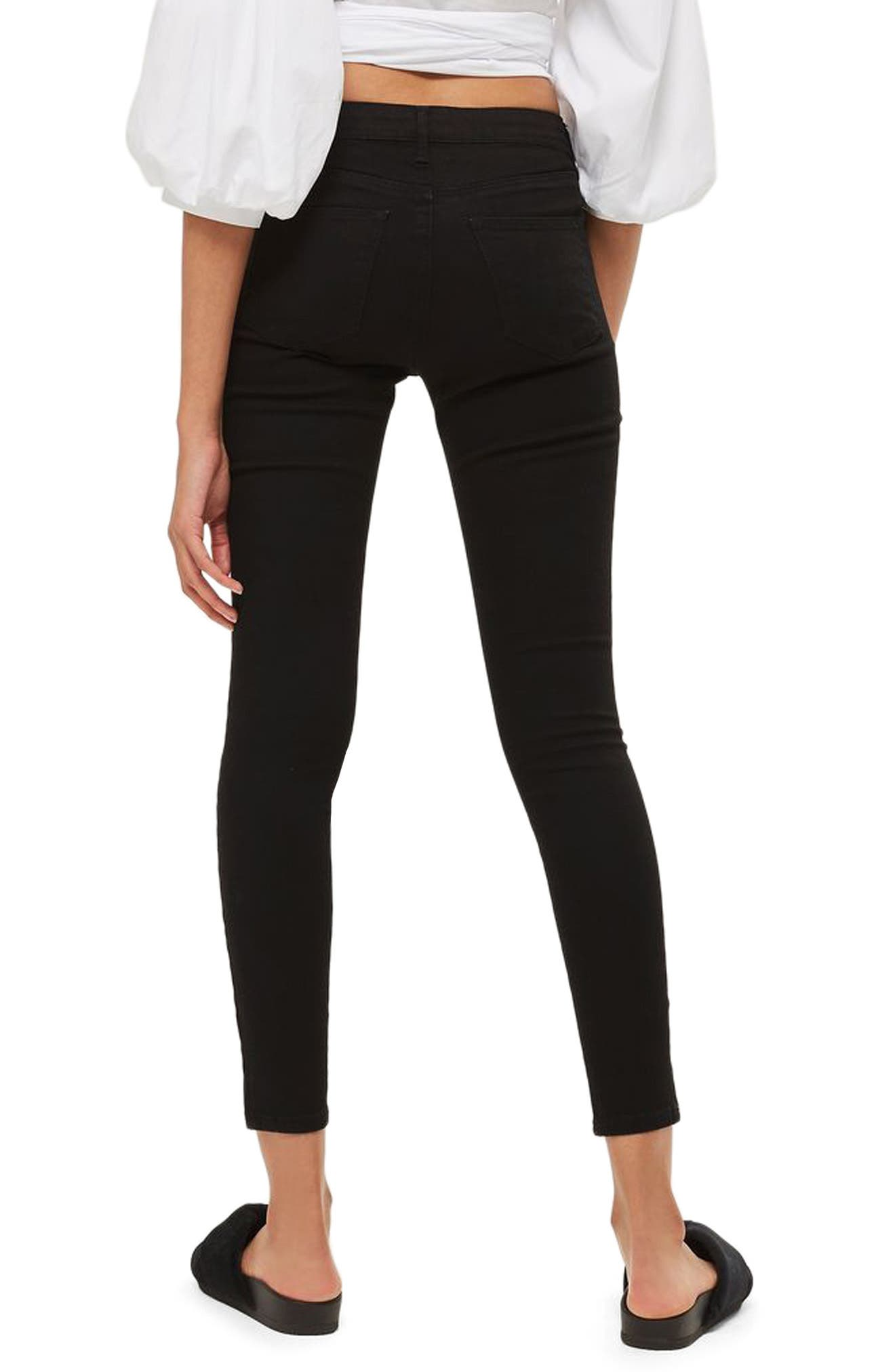 Alternate Image 2  - Topshop Sidney Skinny Jeans