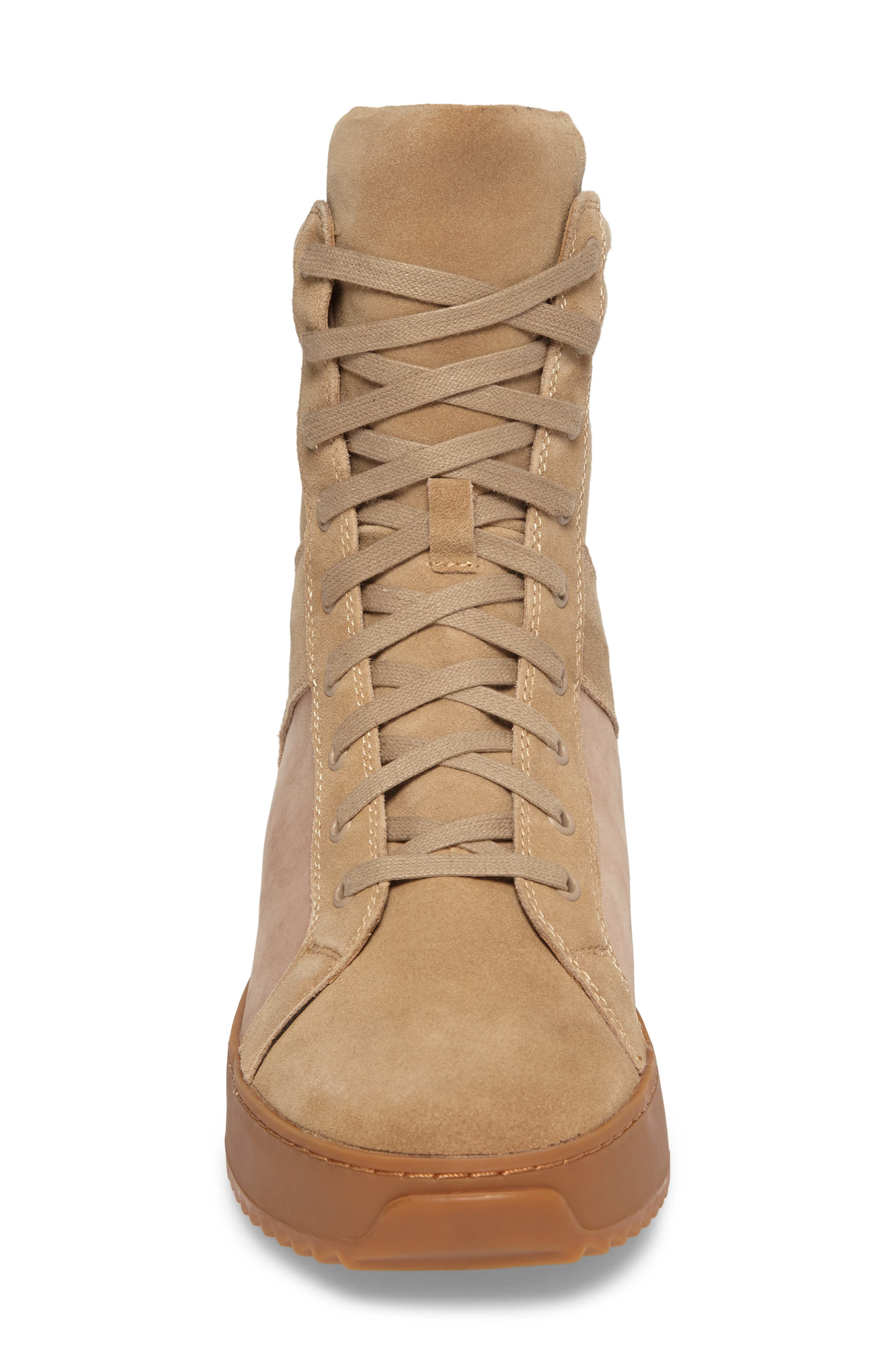 Shane Sneaker,                             Alternate thumbnail 4, color,                             Sand Suede