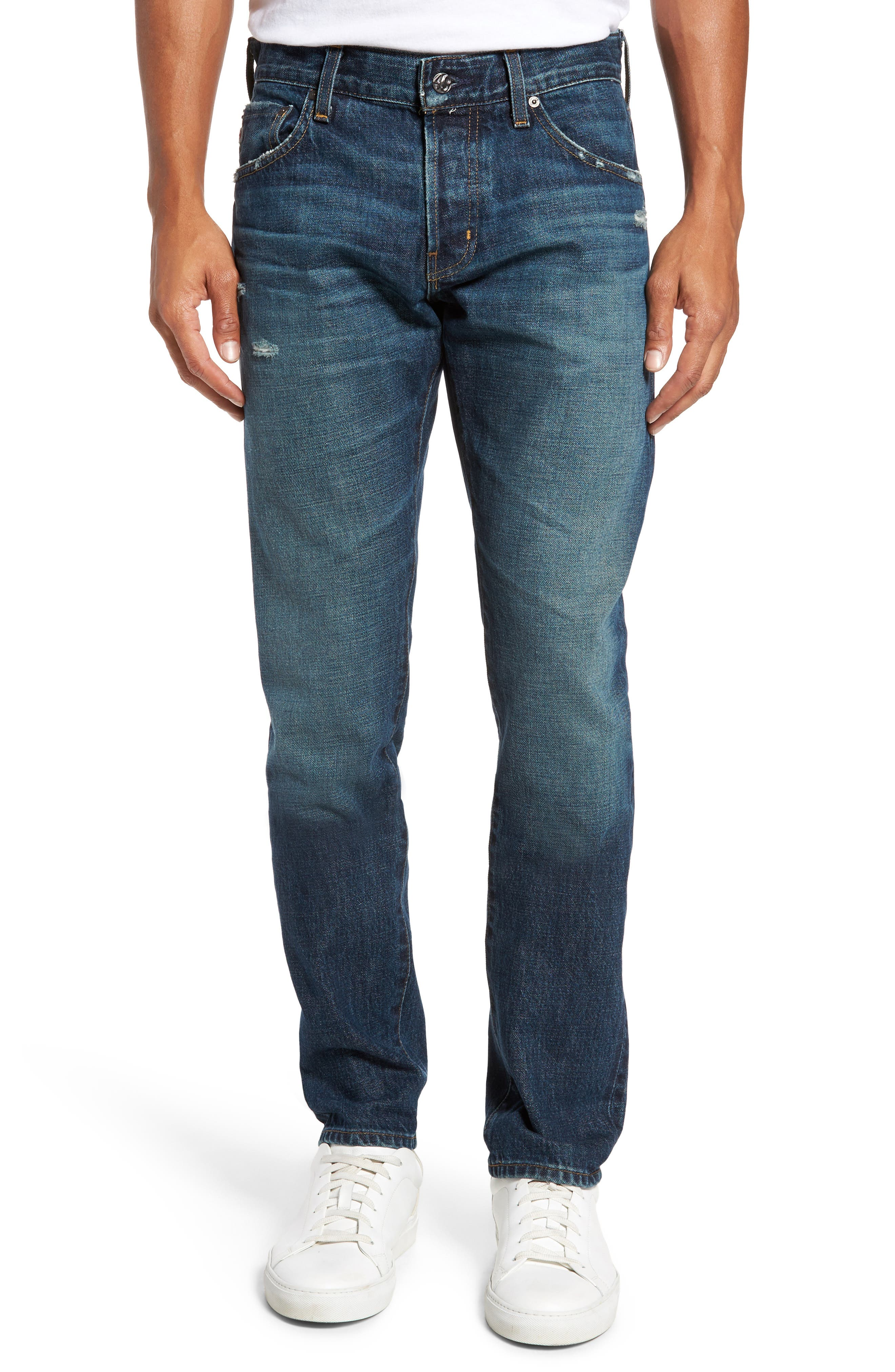 AG Tellis Slim Fit Jeans (11 Years Viper)