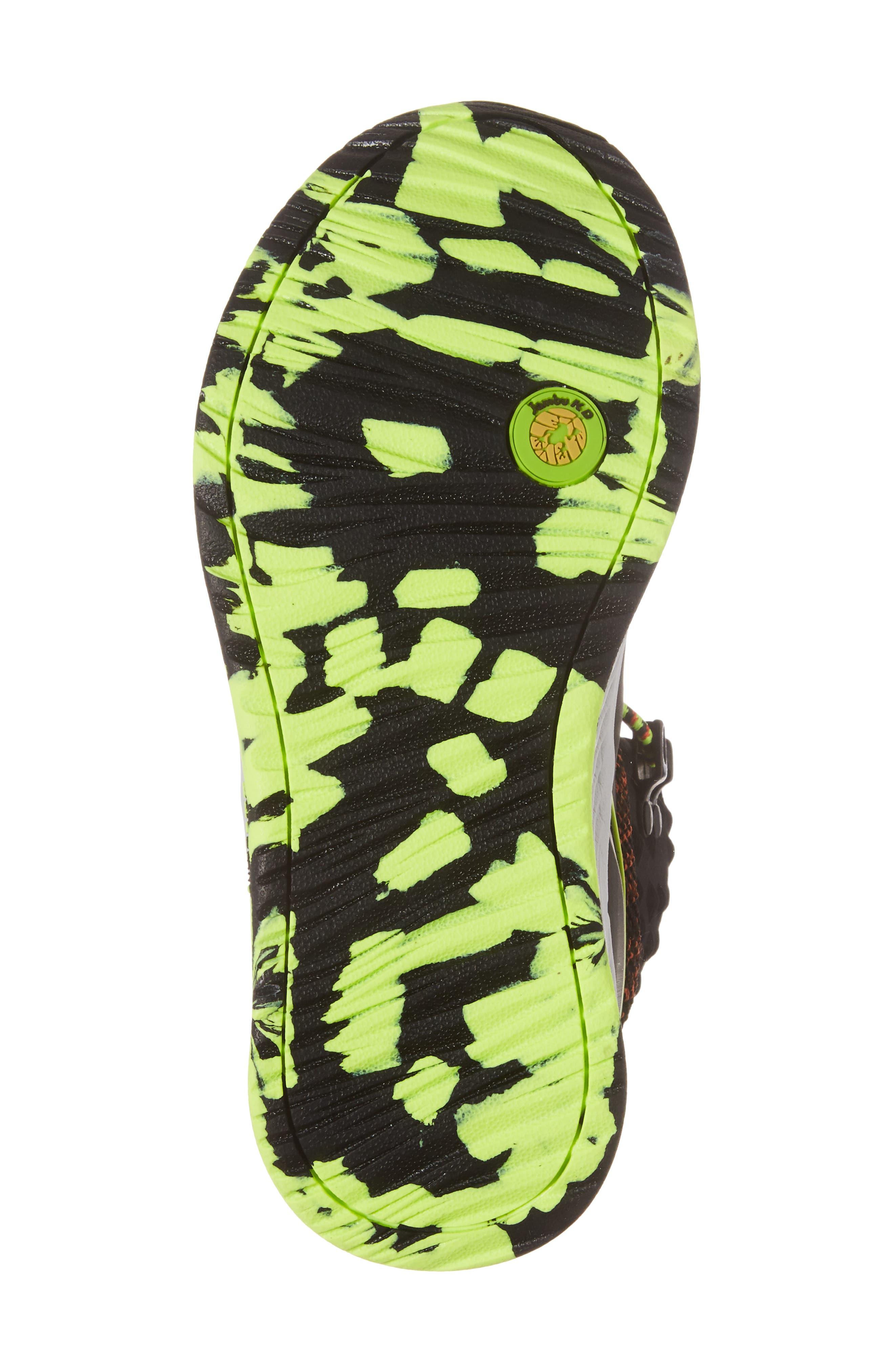 Armadillo Sneaker Boot,                             Alternate thumbnail 6, color,                             Black