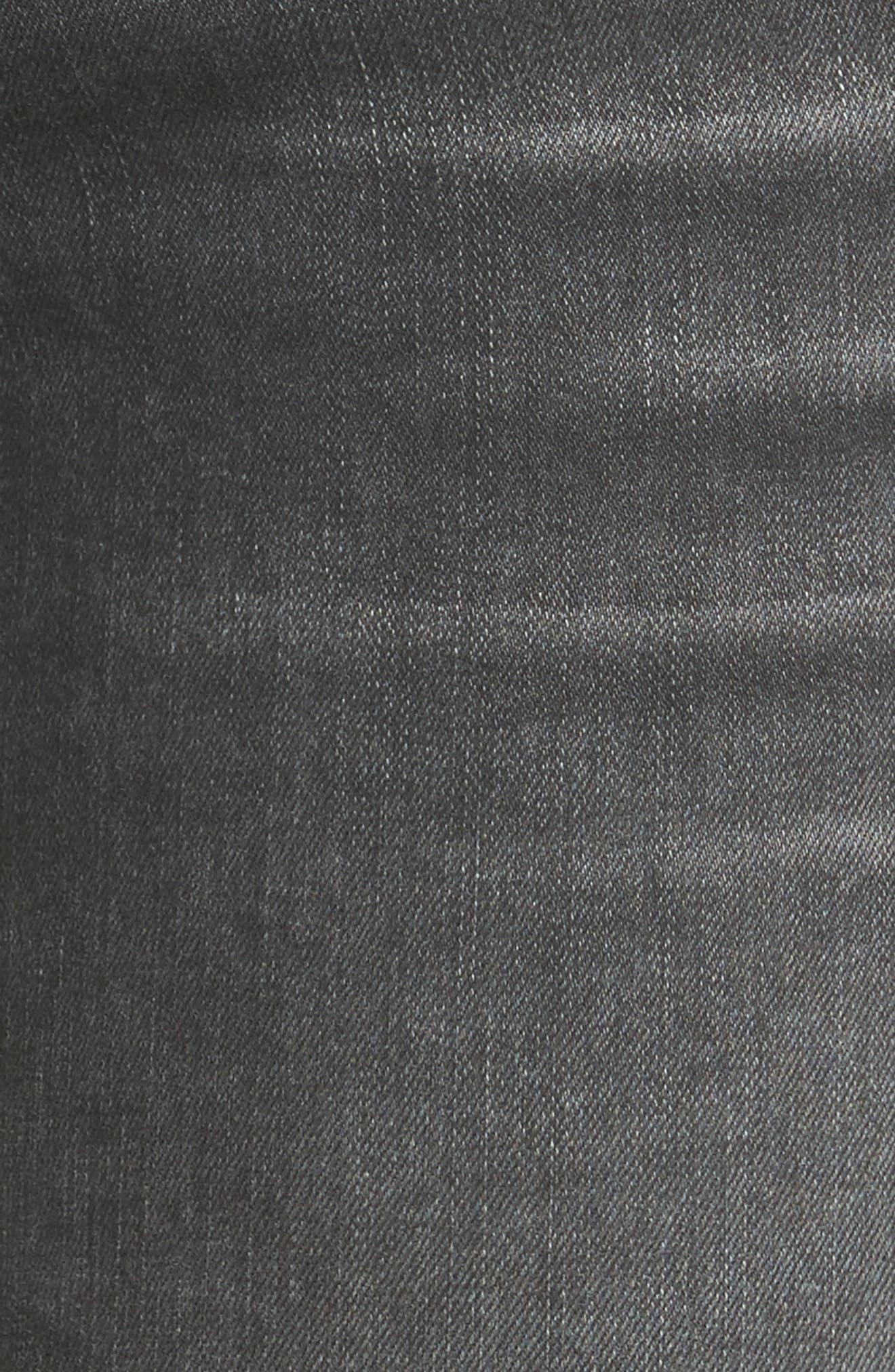 Alternate Image 5  - STS Blue Tuxedo Stripe Skinny Jeans