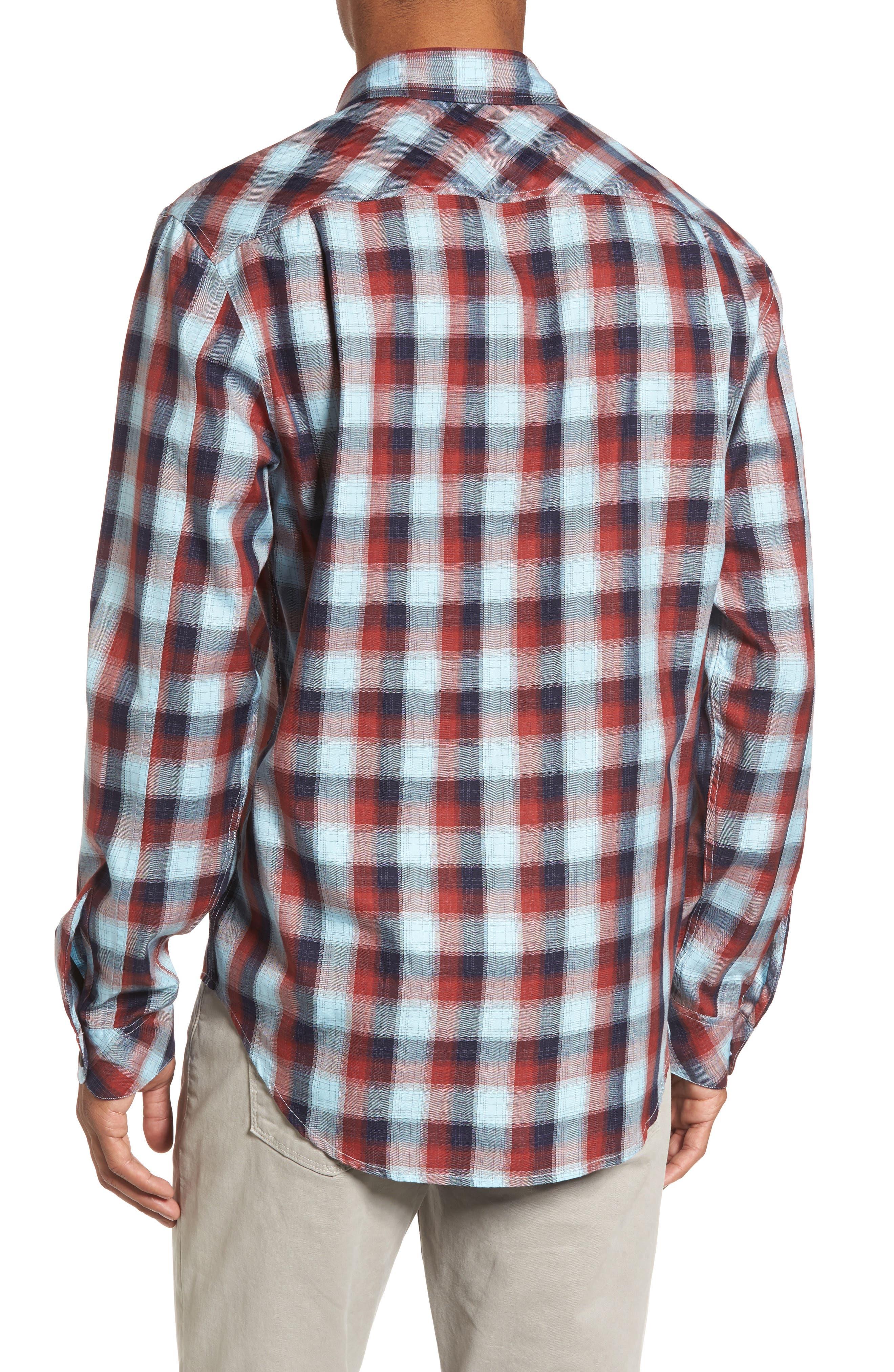 Alternate Image 2  - Coastaoro Redford Check Flannel Shirt
