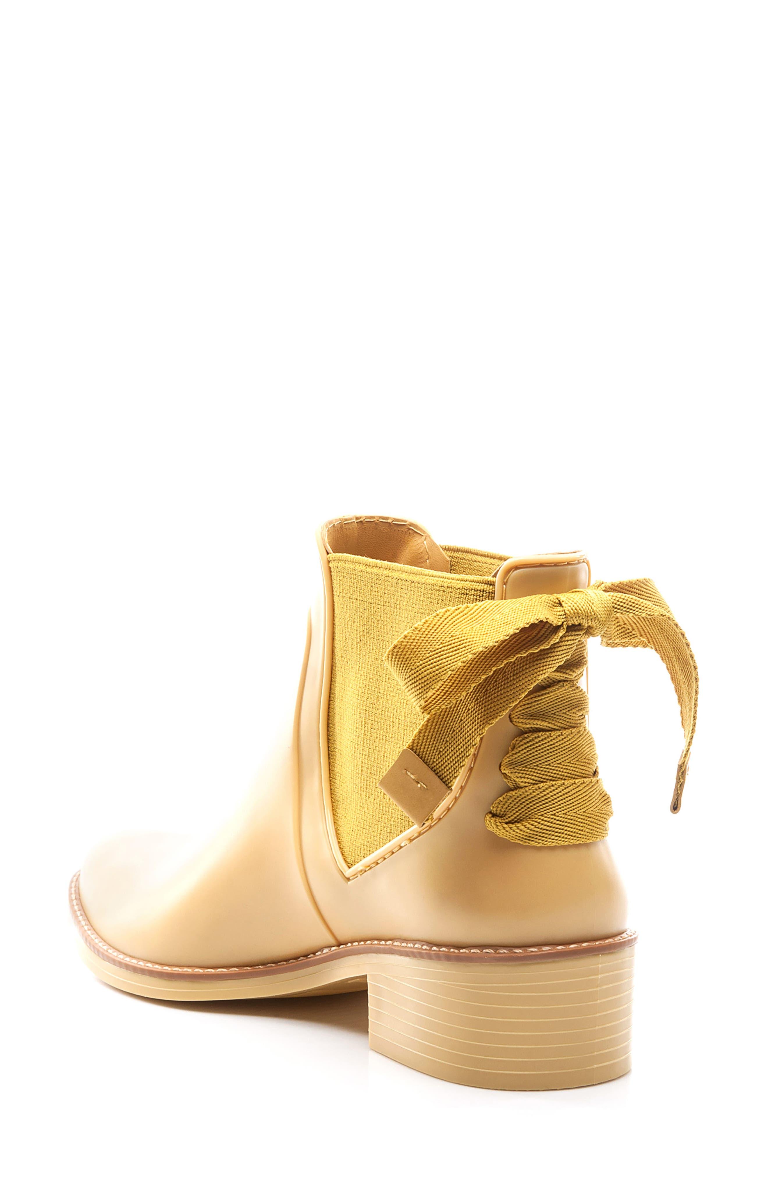 Paige Rain Boot,                             Alternate thumbnail 2, color,                             Yellow