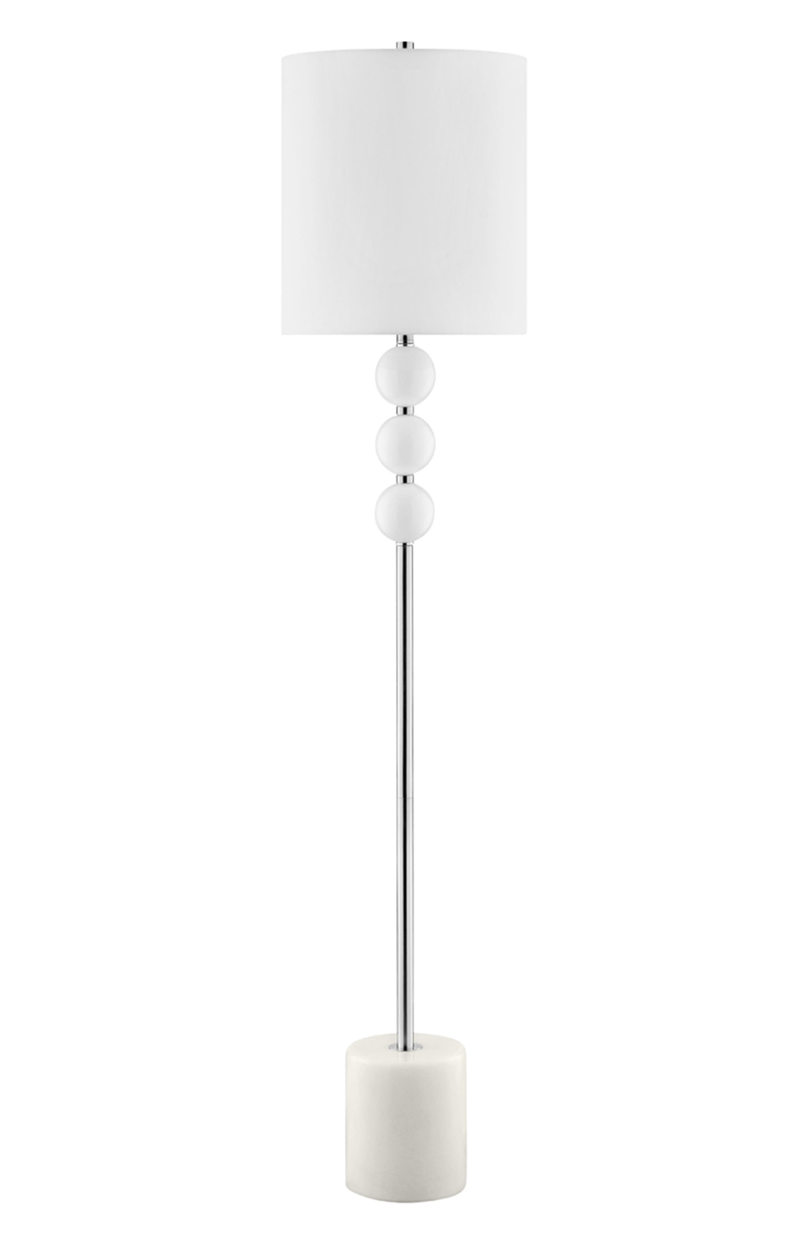 JAlexander Viola Floor Lamp,                         Main,                         color, White