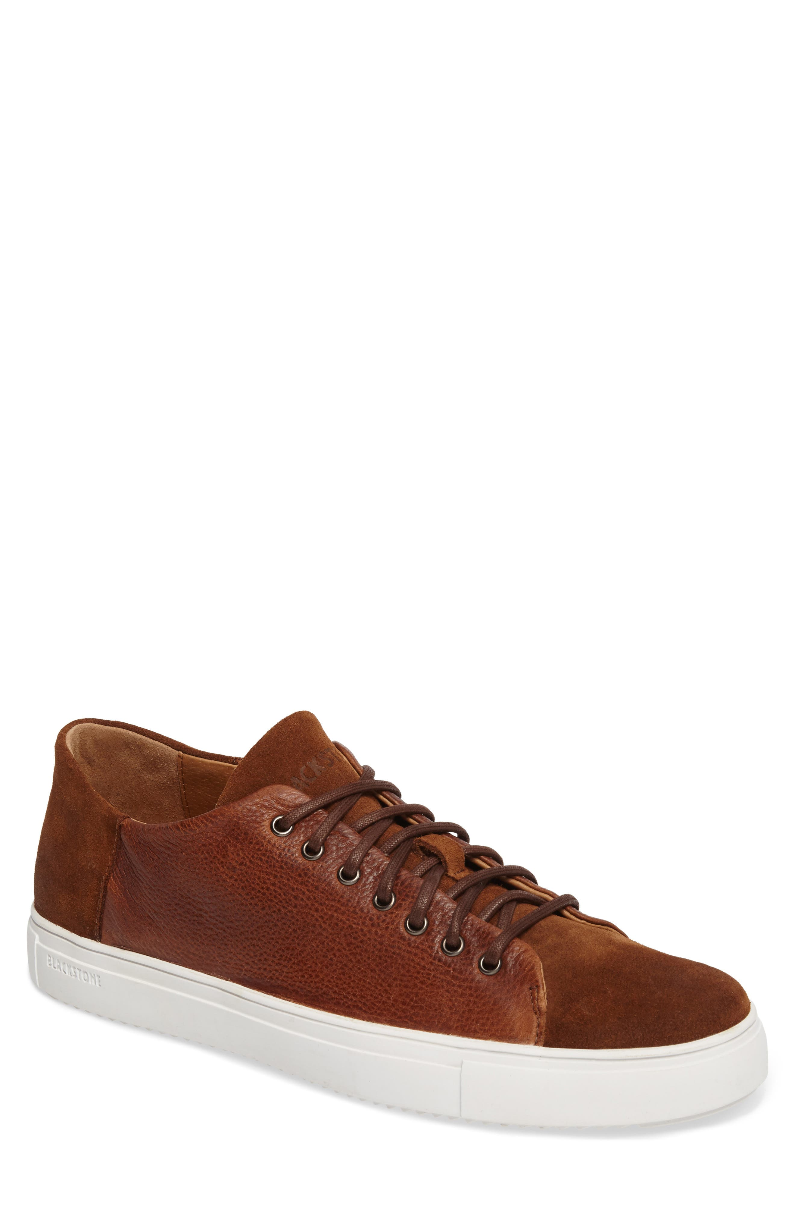 OM 58 Sneaker,                         Main,                         color, Old Yellow Leather