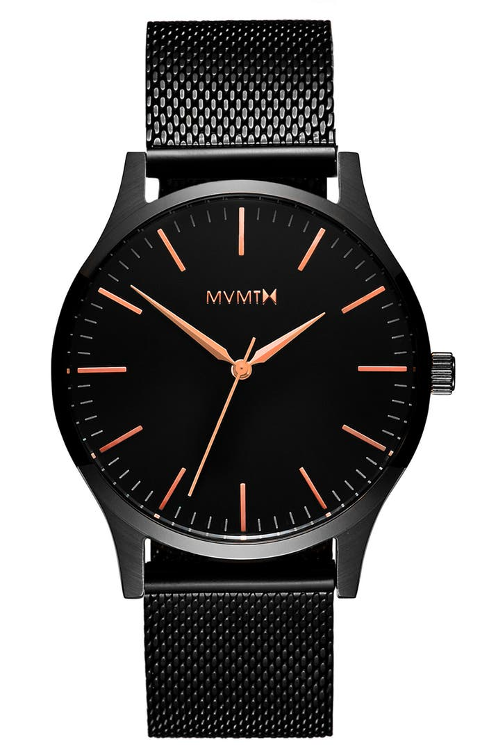 Mvmt the 40 mesh strap watch 40mm nordstrom for Watches 40mm