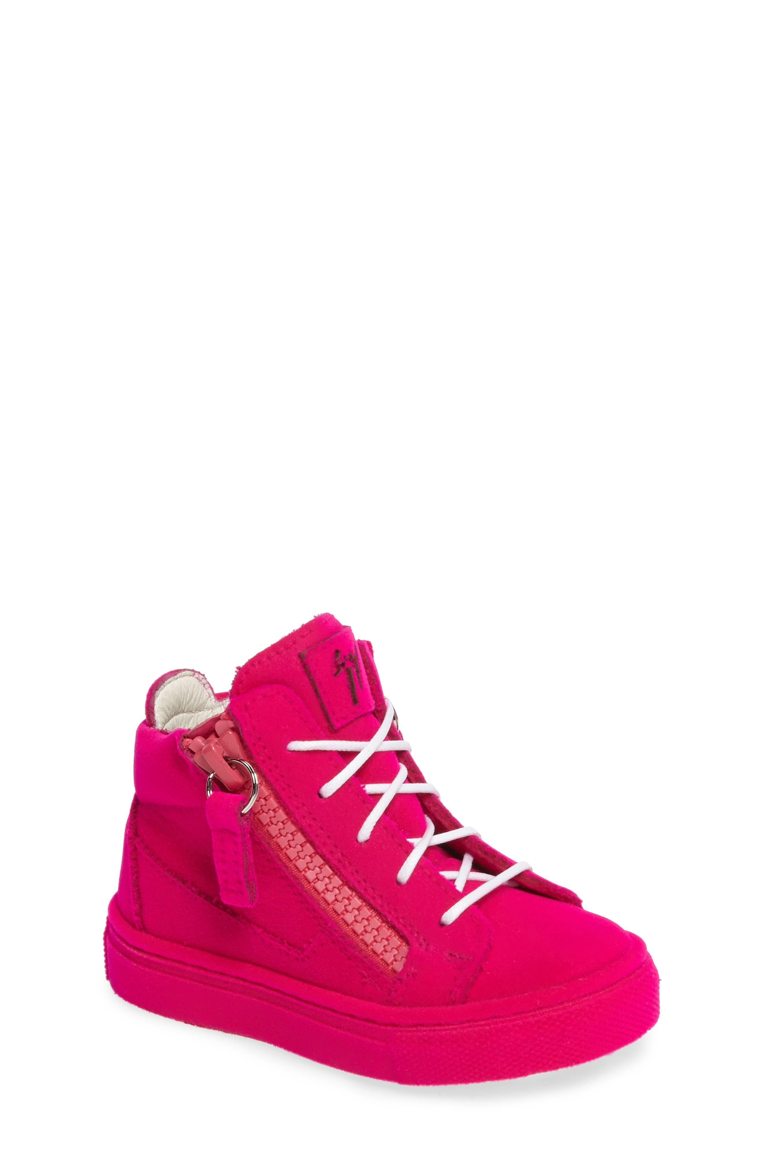 Main Image - Giuseppe Zanotti Smuggy Sneaker (Baby, Walker, Toddler & Little Kid)