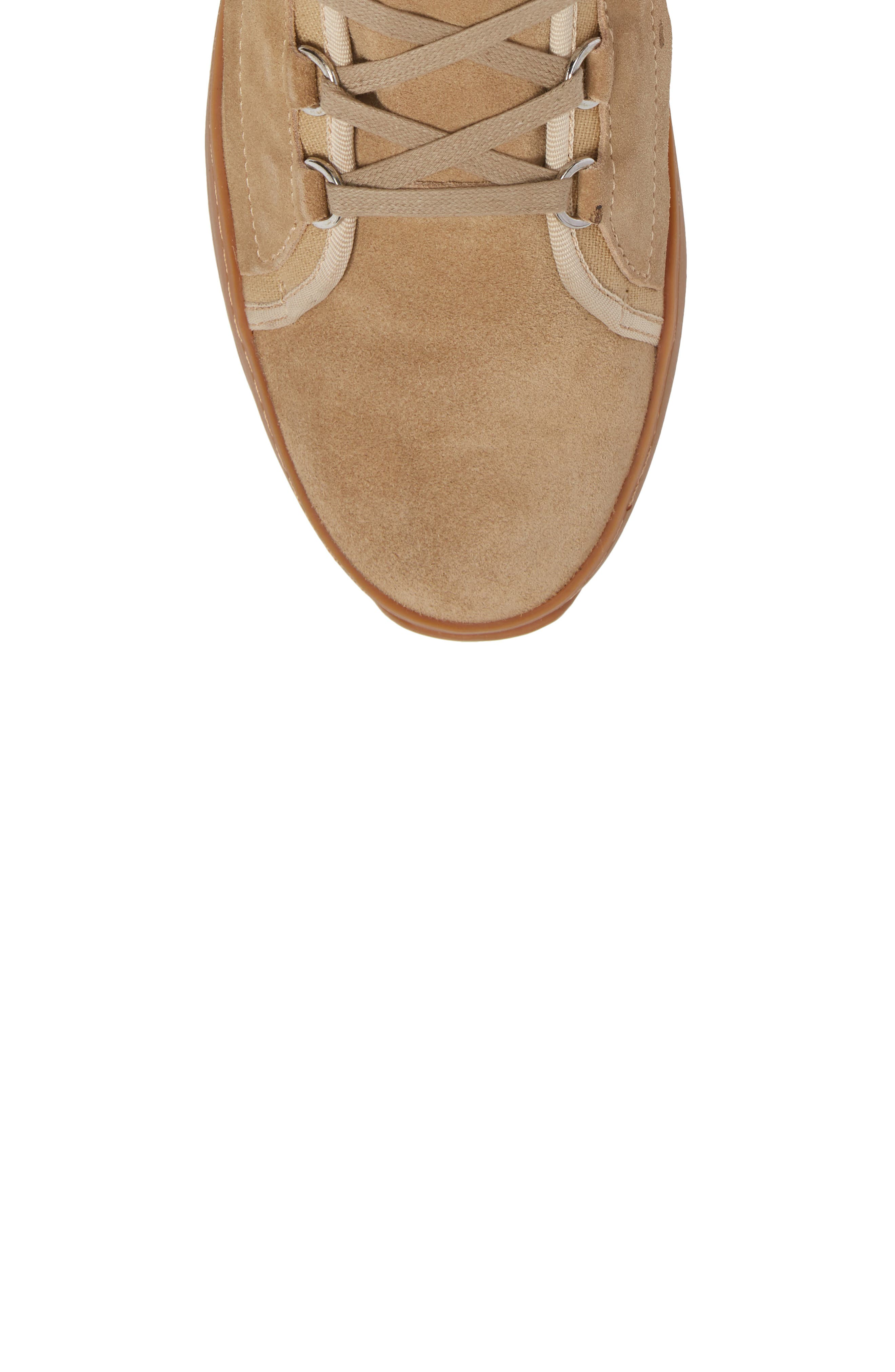 Sander Sneaker,                             Alternate thumbnail 5, color,                             Sand Suede