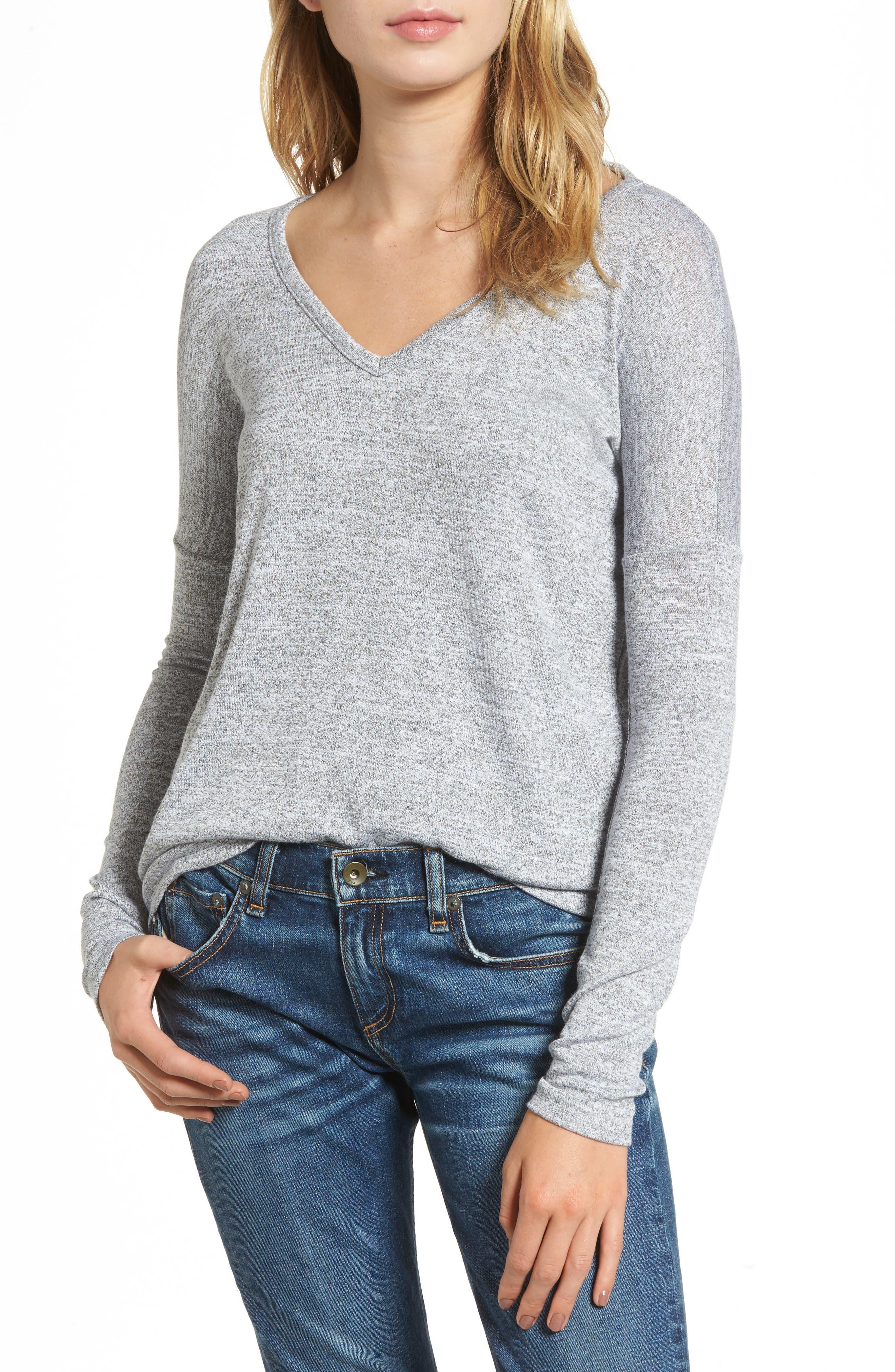 Main Image - rag & bone/JEAN Long Sleeve Tee (Nordstrom Exclusive)
