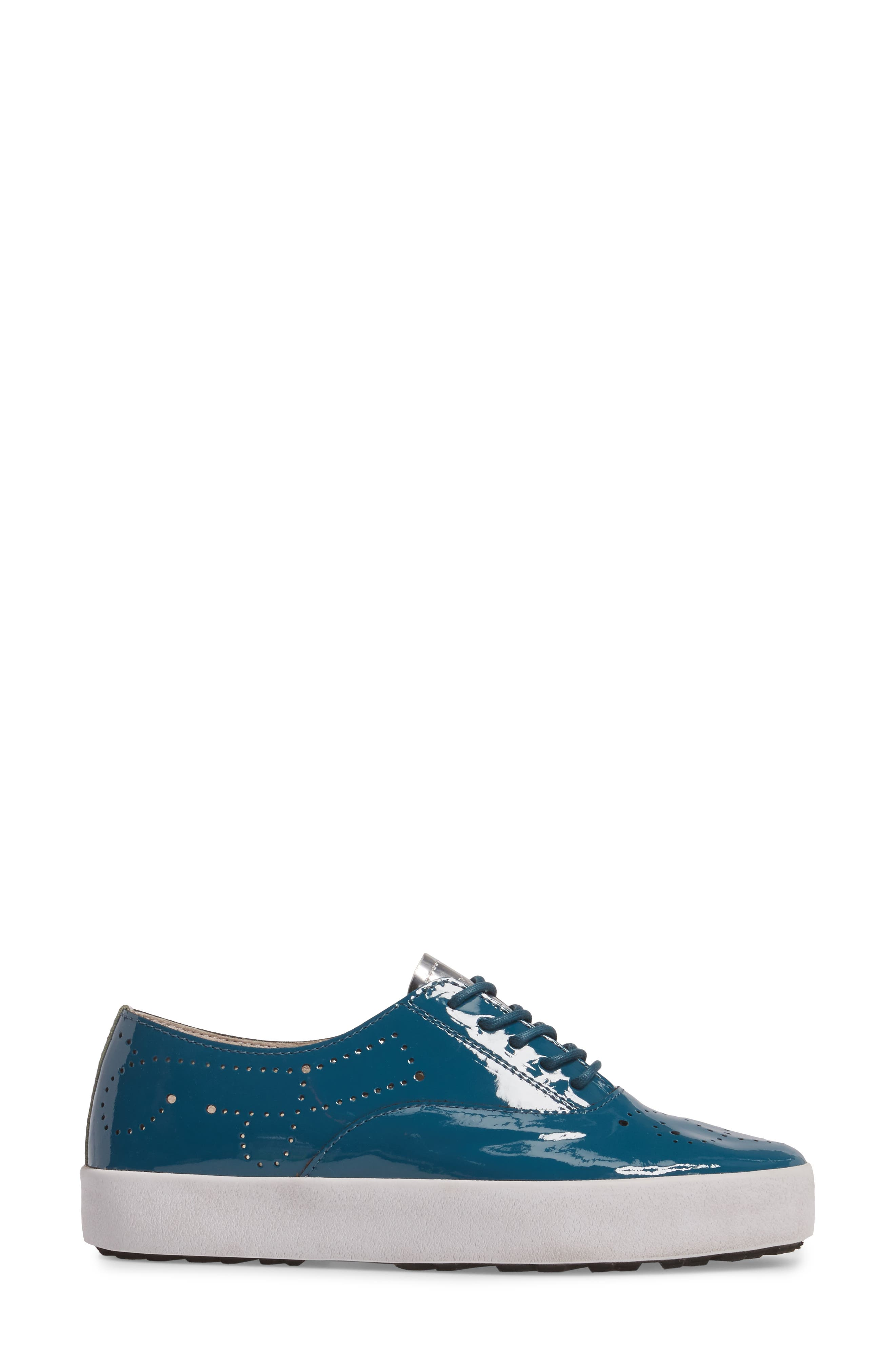 NL41 Sneaker,                             Alternate thumbnail 3, color,                             Turquoise Patent Leather