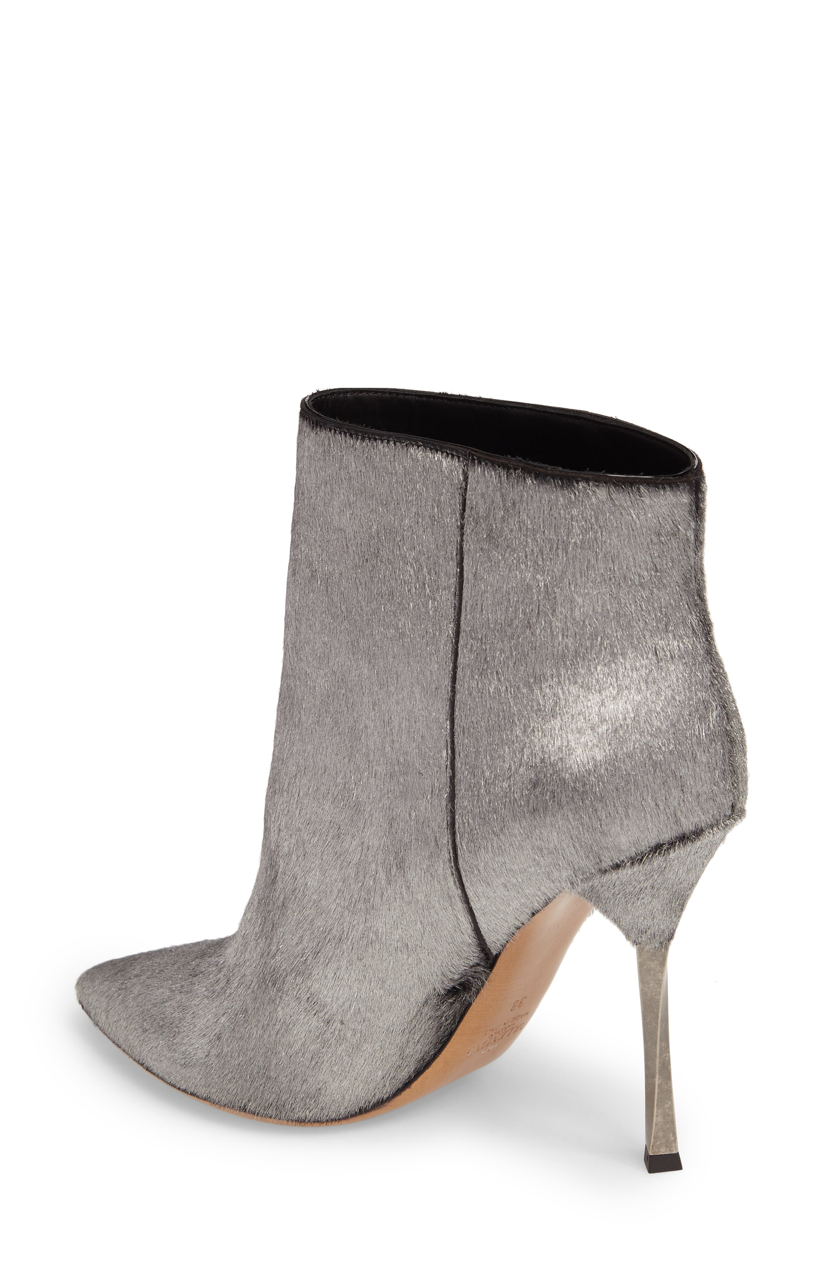 Alternate Image 2  - VALENTINO GARAVANI Genuine Calf Hair Bootie (Women)